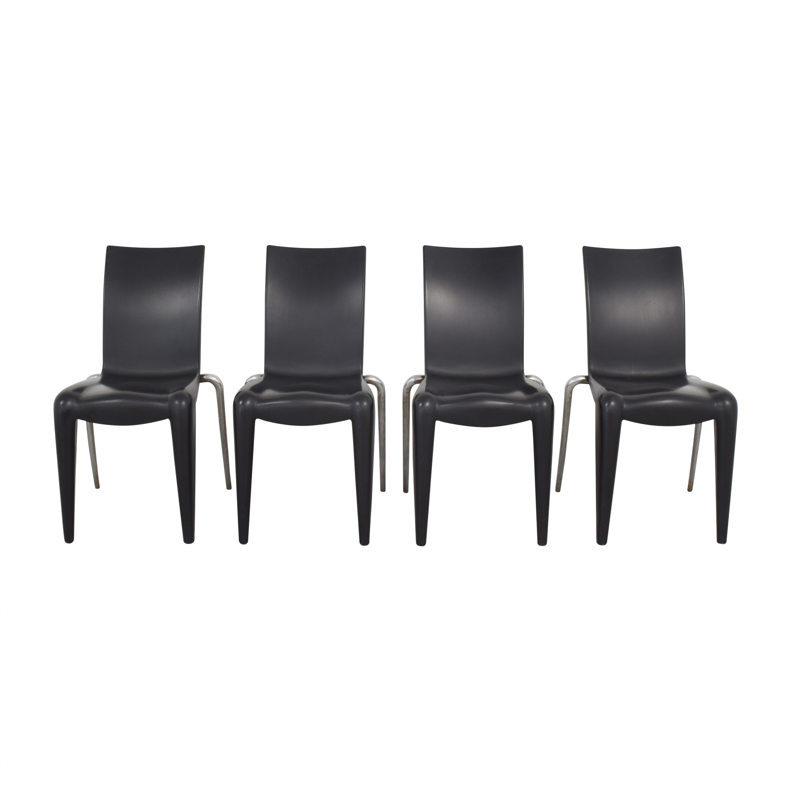 Vitra Vitra Louis 20 Dining Chairs by Phillipe Starck Chairs
