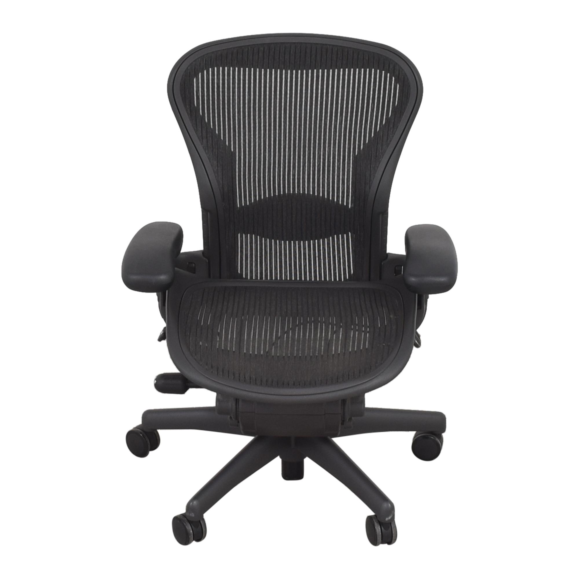 Herman Miller Herman Miller Size A Aeron Chair discount