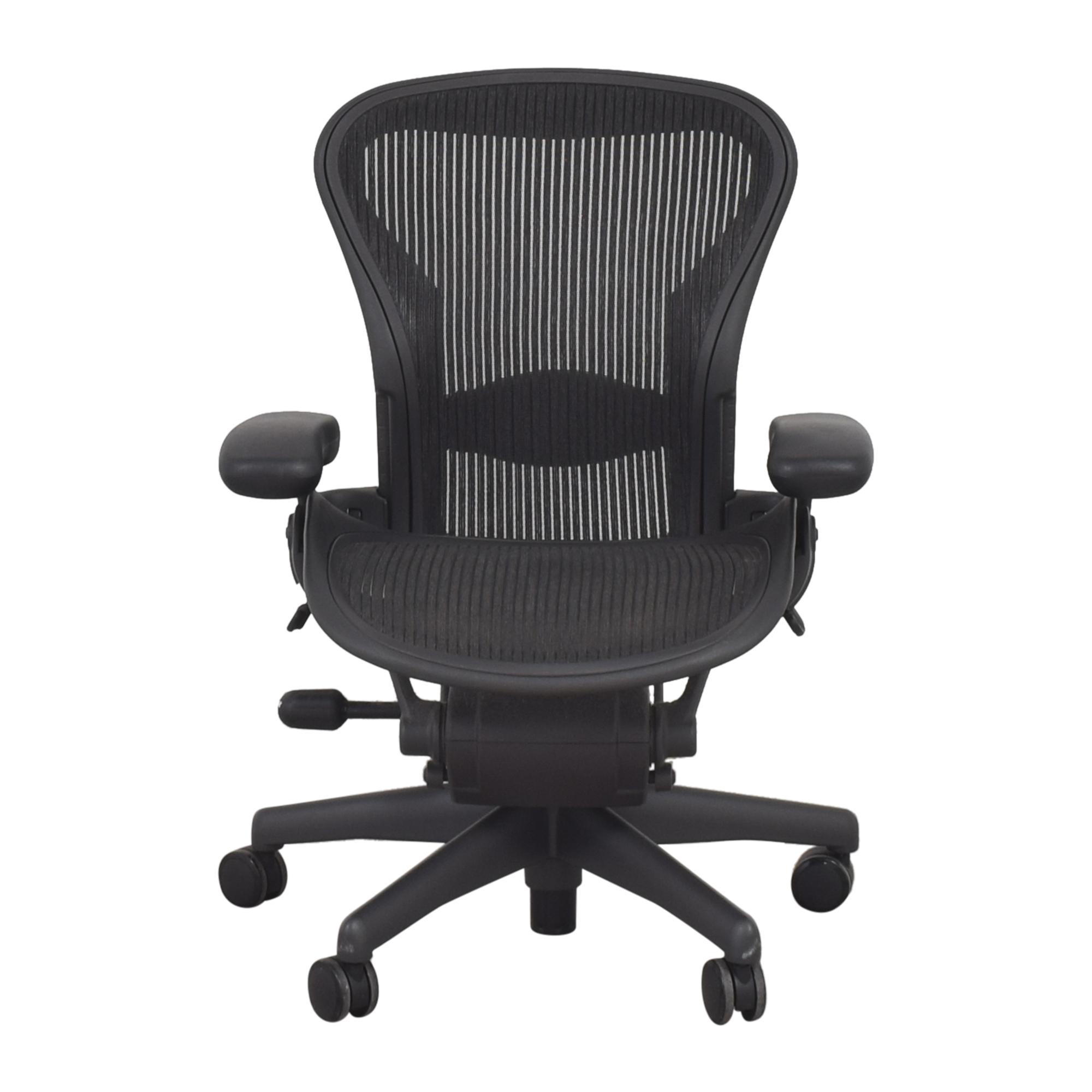 Herman Miller Herman Miller Size A Aeron Chair dimensions