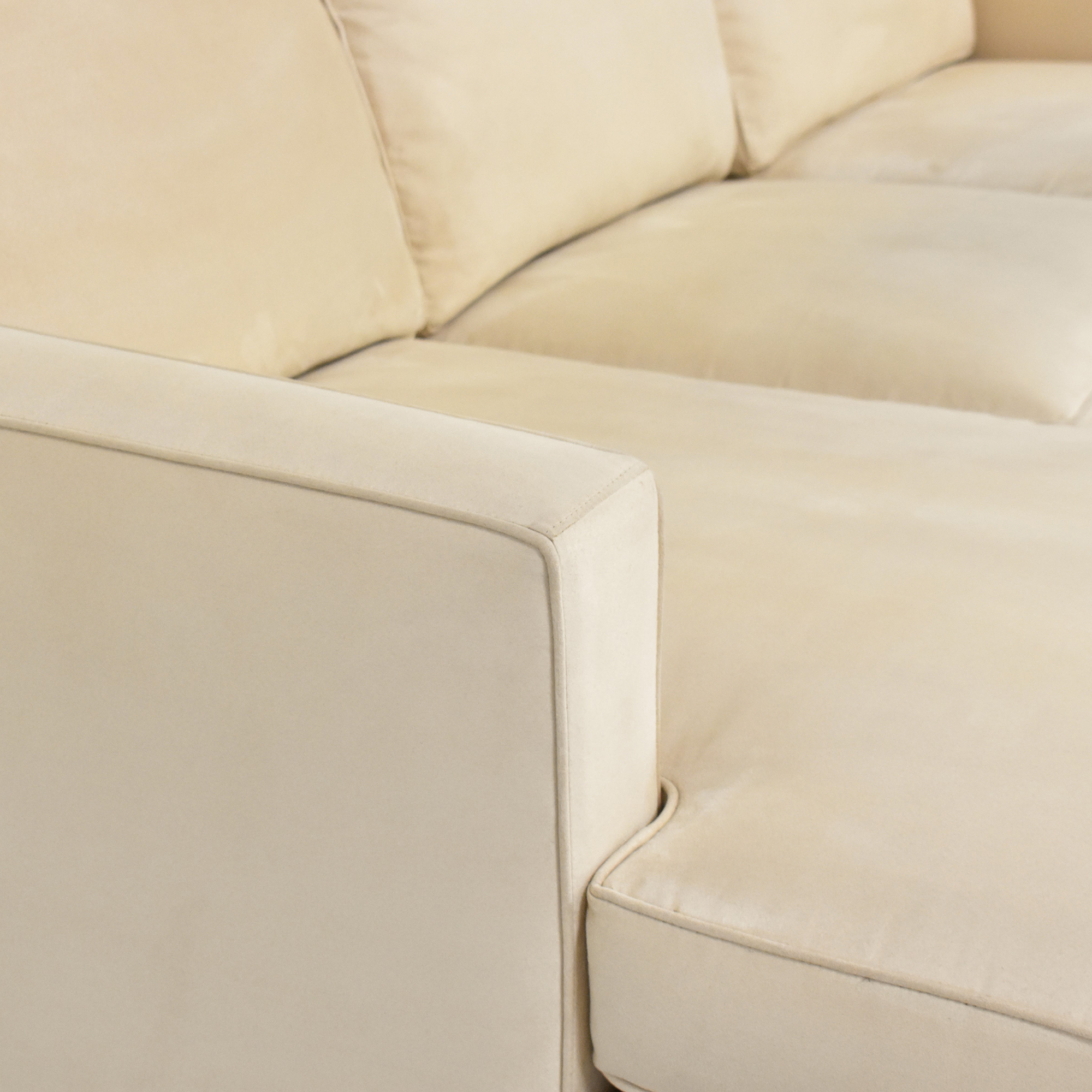 Crate & Barrel Crate and Barrel Chaise Sectional Sofa price