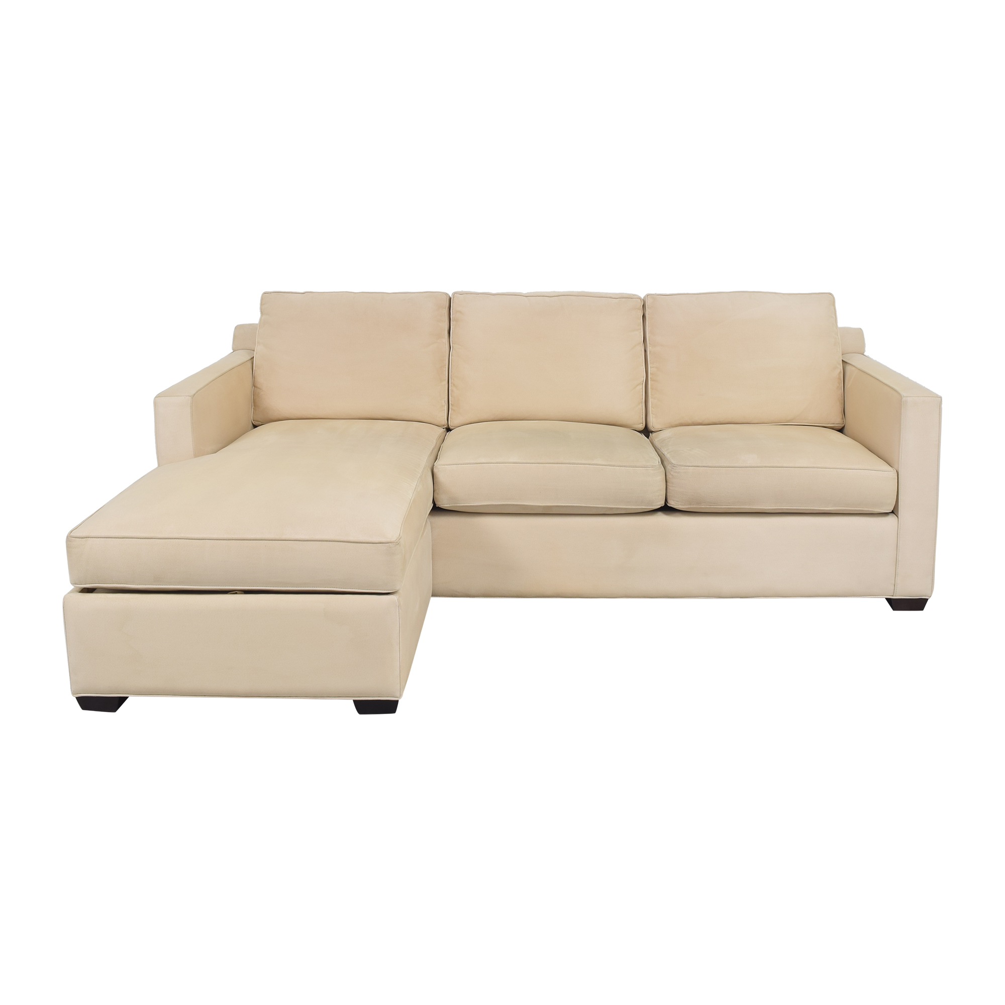 Crate & Barrel Crate and Barrel Chaise Sectional Sofa used