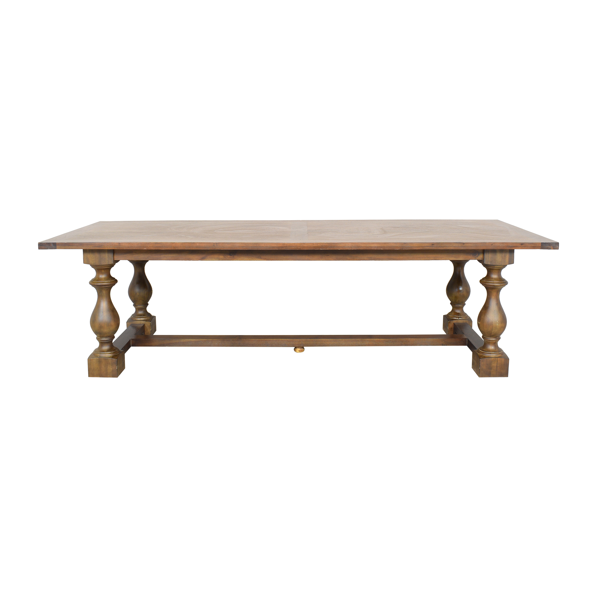 Restoration Hardware Restoration Hardware 17th C. Monastery Rectangular Dining Table  brown