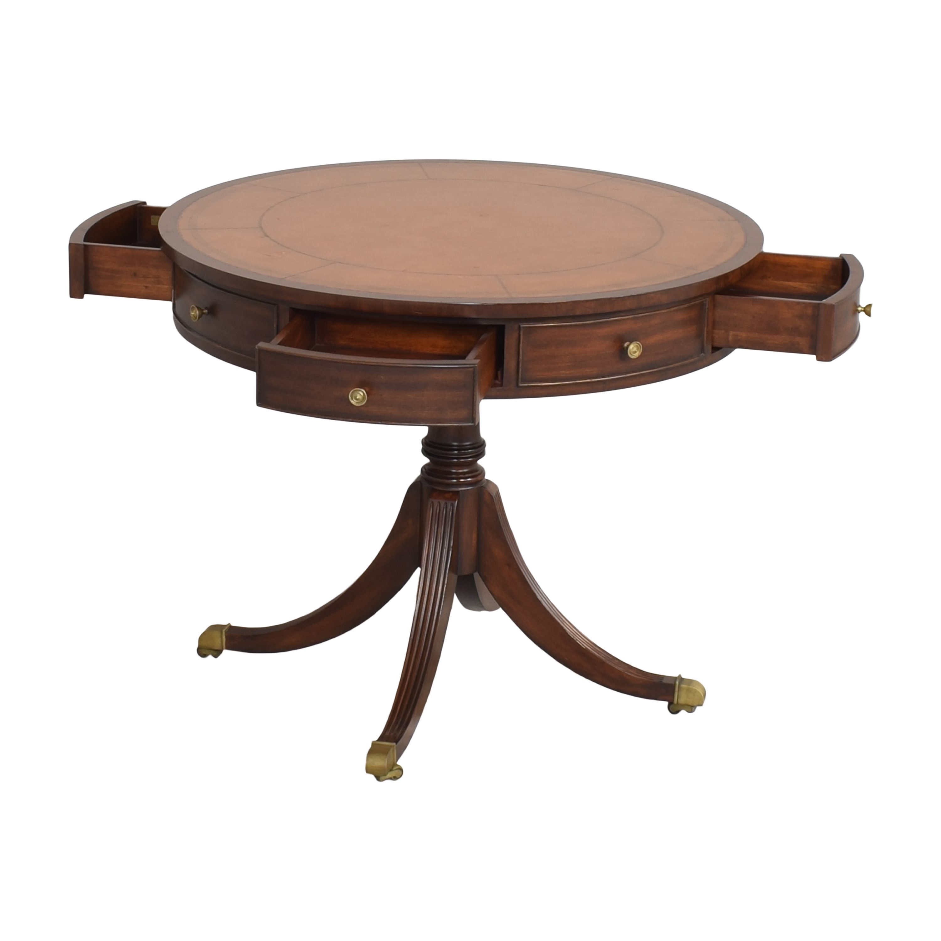 Ethan Allen Round Foyer Table / Accent Tables