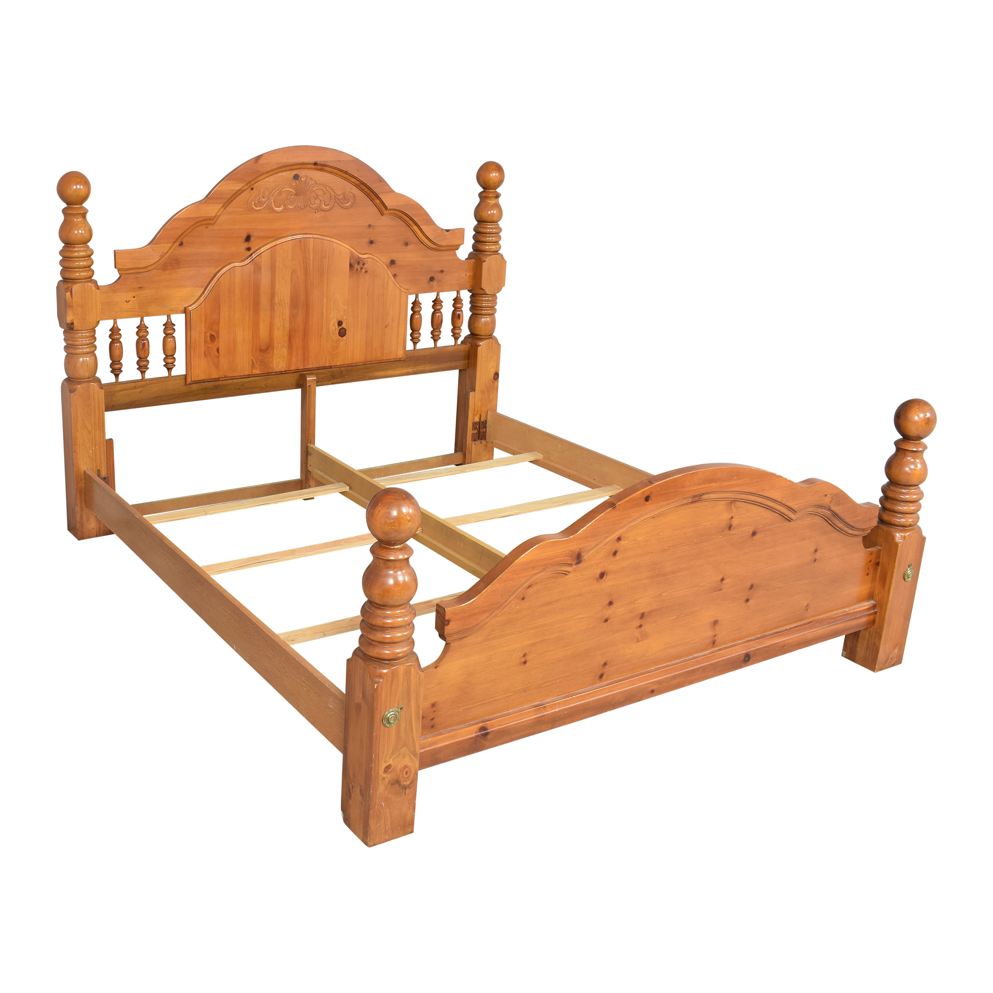 Four Poster King Bed