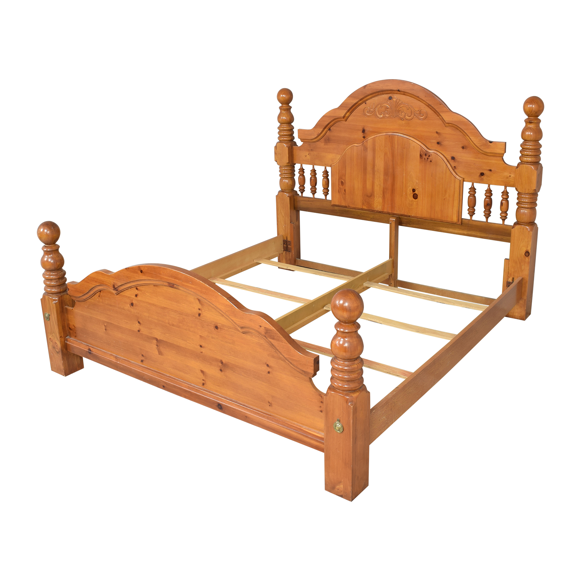 shop Four Poster King Bed  Beds