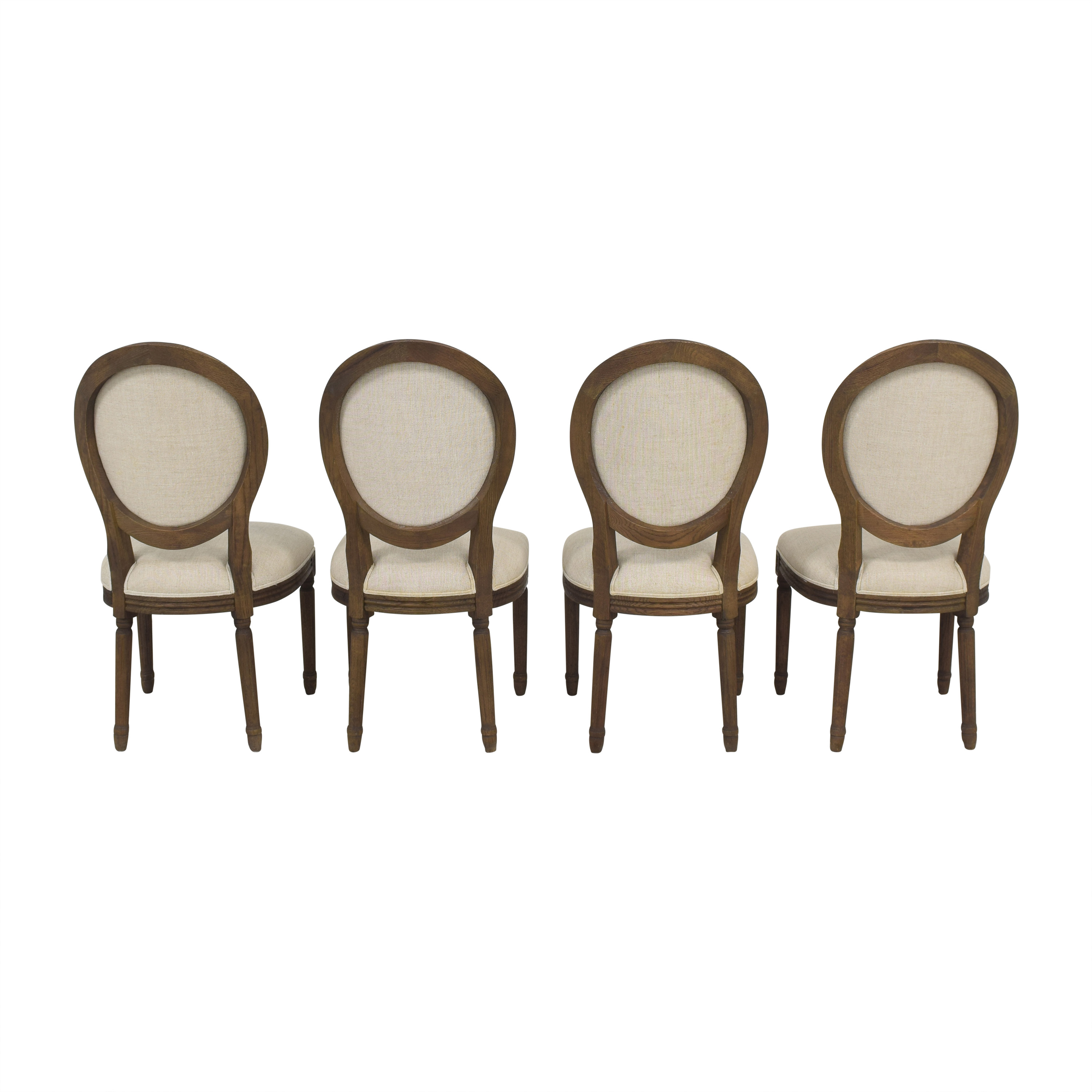 shop Restoration Hardware Restoration Hardware Vintage French Round Dining Side Chairs online