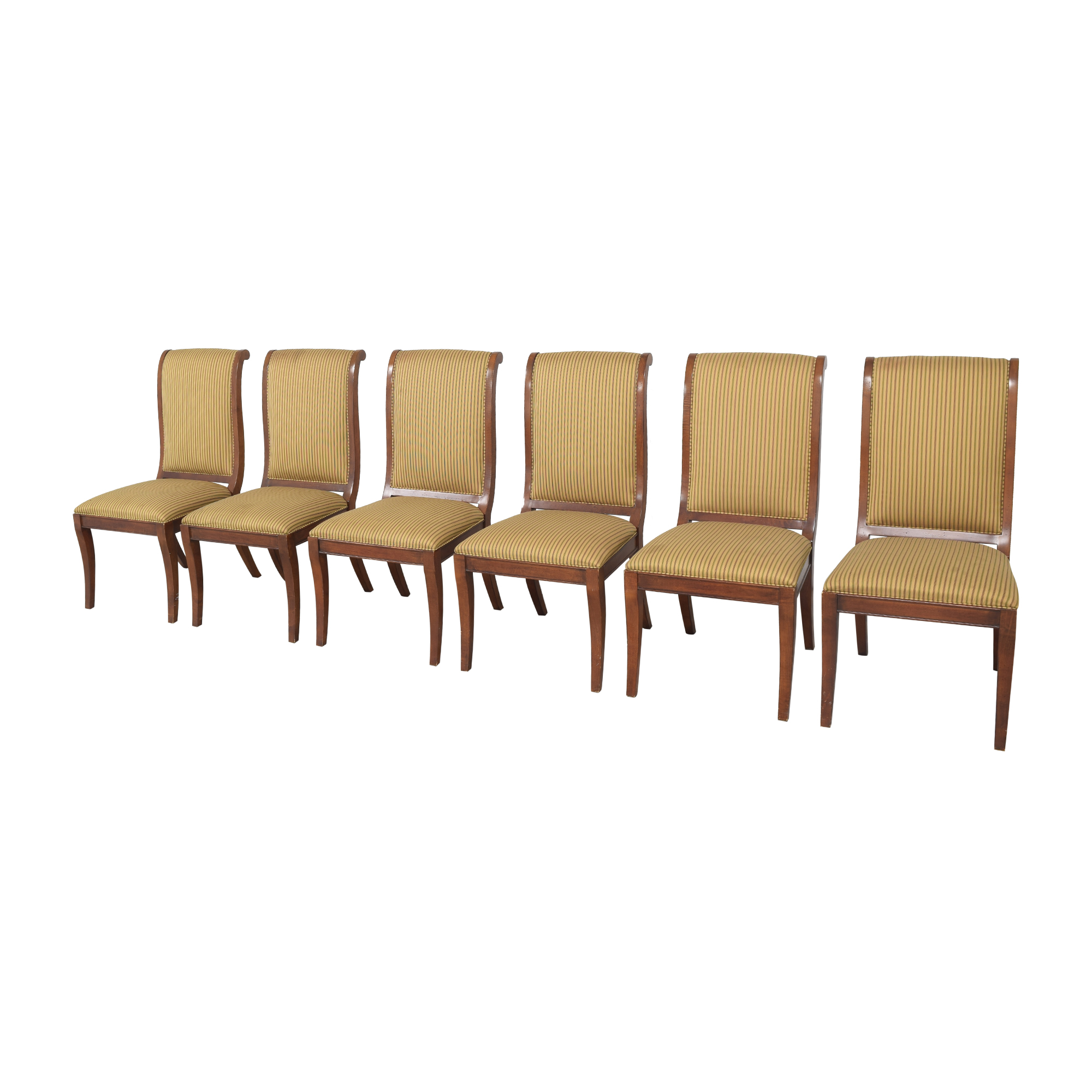 Drexel Heritage Upholstered Dining Chairs / Dining Chairs