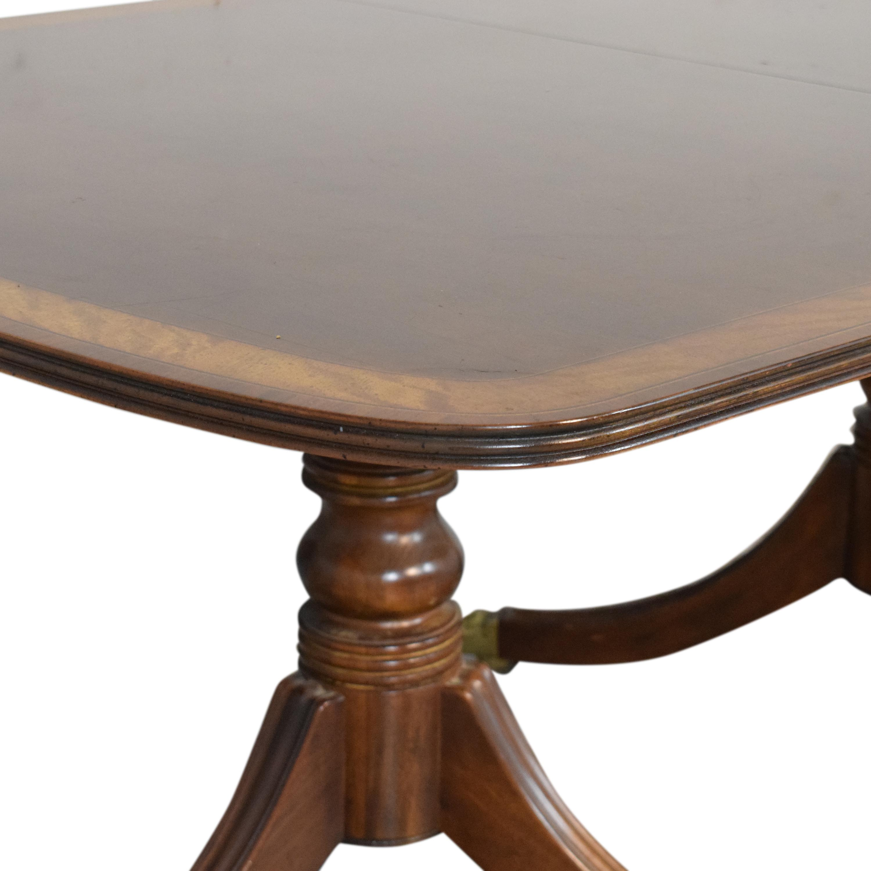 buy Henredon Furniture Extendable Dining Table Henredon Furniture