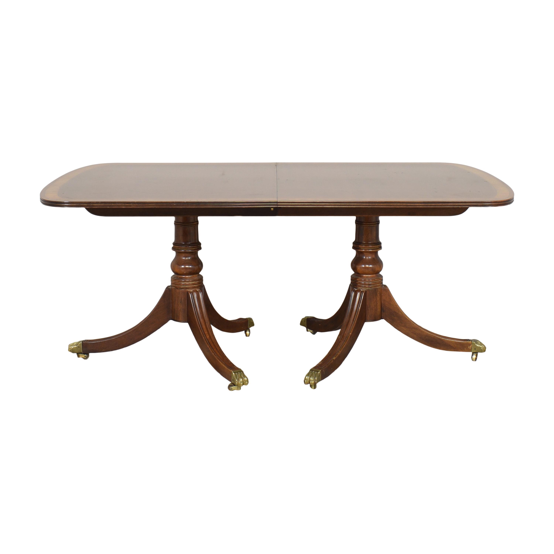 Henredon Furniture Henredon Furniture Extendable Dining Table nyc