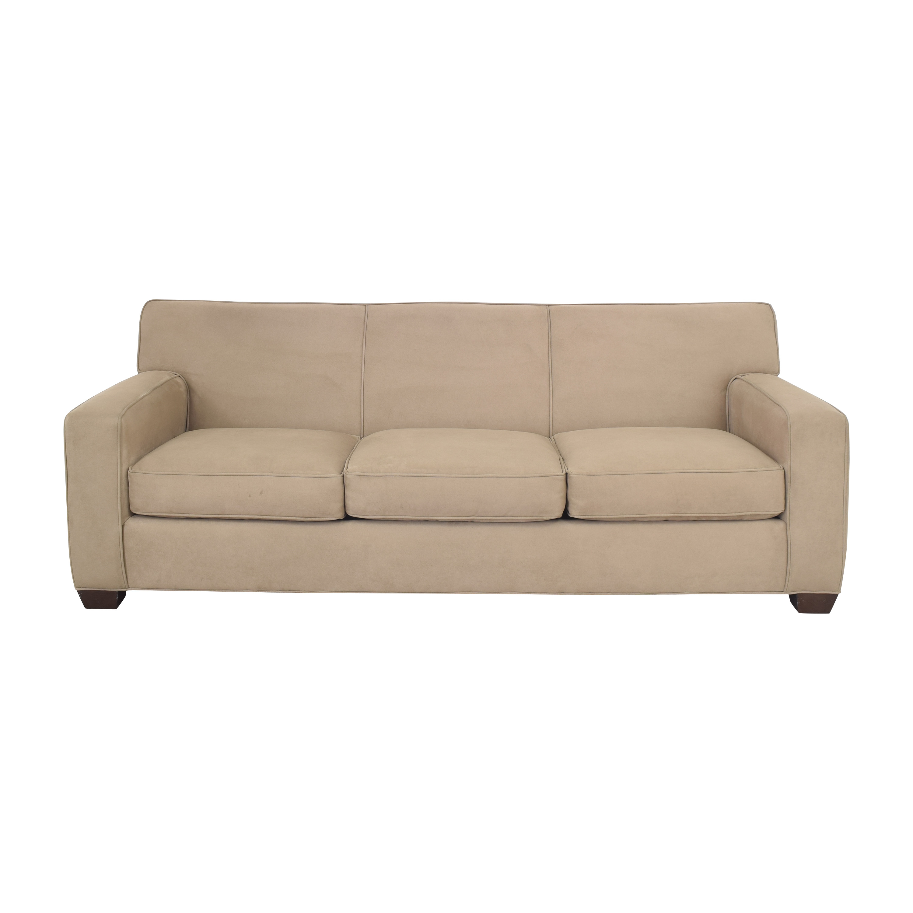 Crate & Barrel Crate & Barrel Axis II Three Seat Sofa Classic Sofas