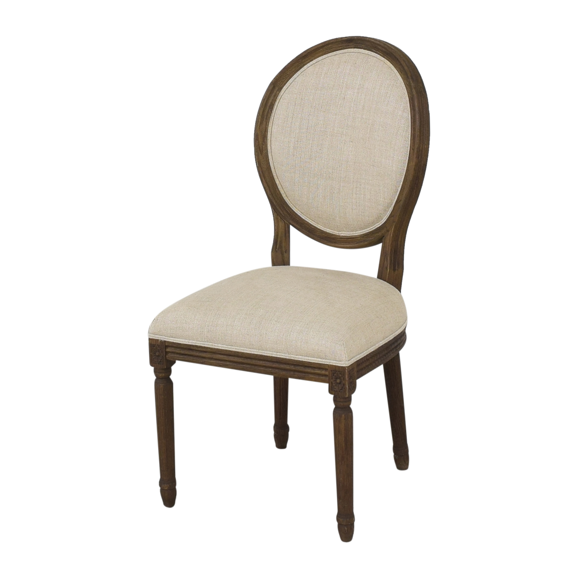 buy Restoration Hardware Restoration Hardware Vintage French Round Dining Side Chairs online