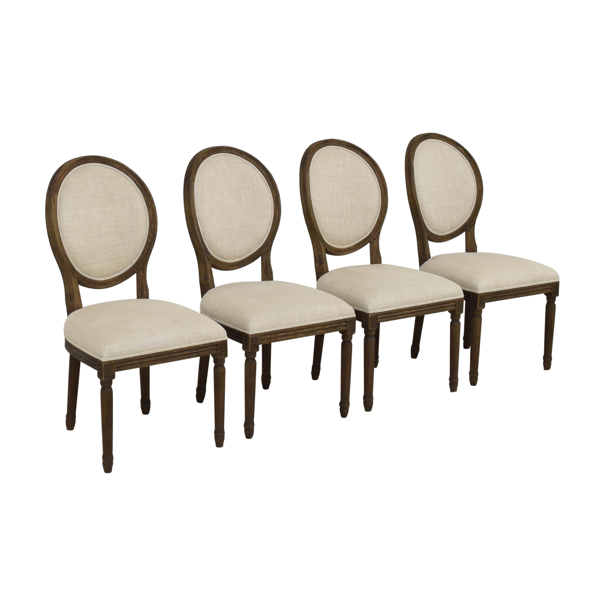 Restoration Hardware Restoration Hardware Vintage French Round Dining Side Chairs Chairs