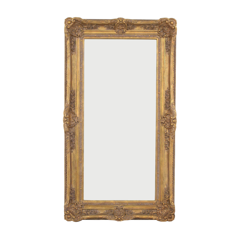 Ornate Framed Wall Mirror / Decor