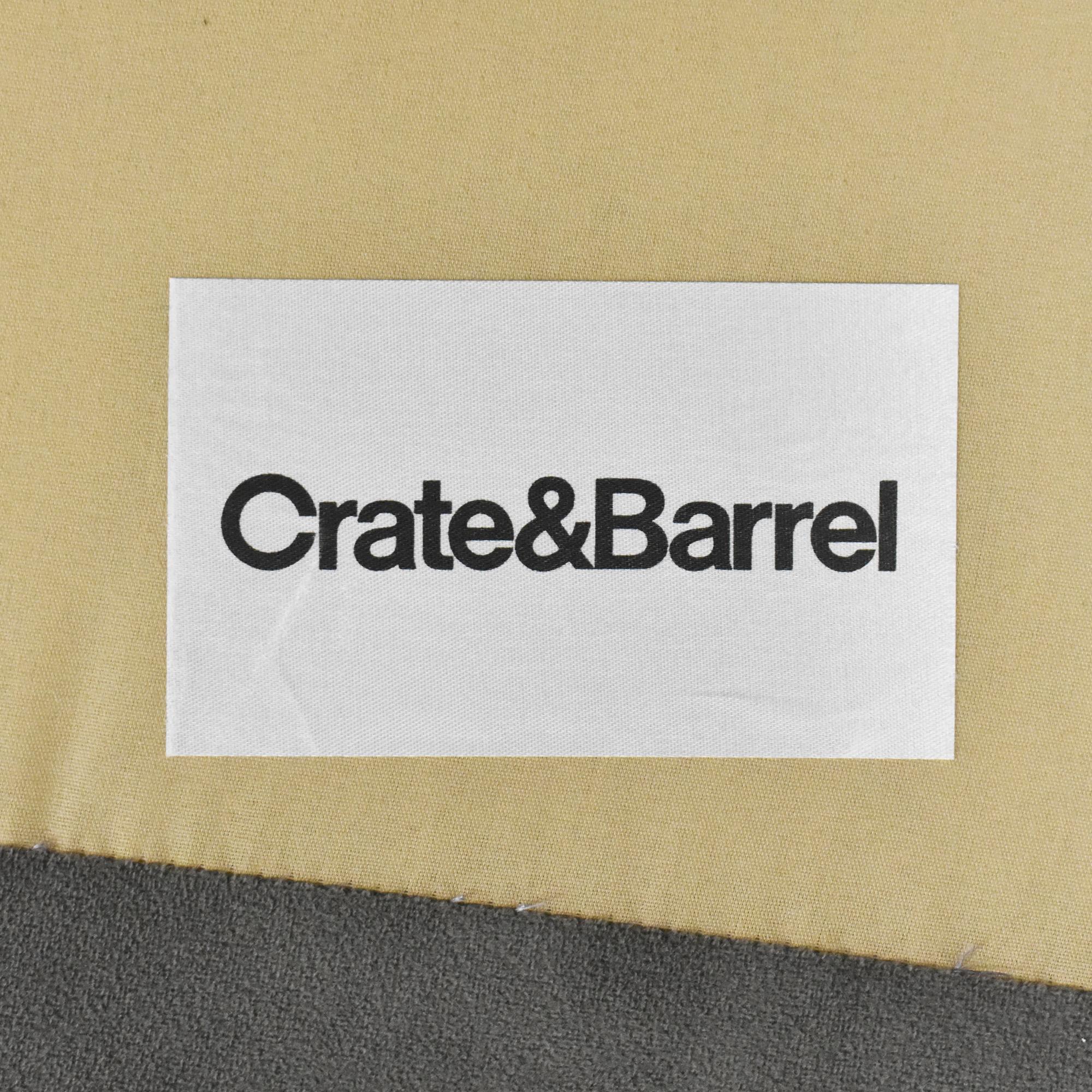 Crate & Barrel Crate & Barrel Lounge II Chaise Sectional Sofa ma
