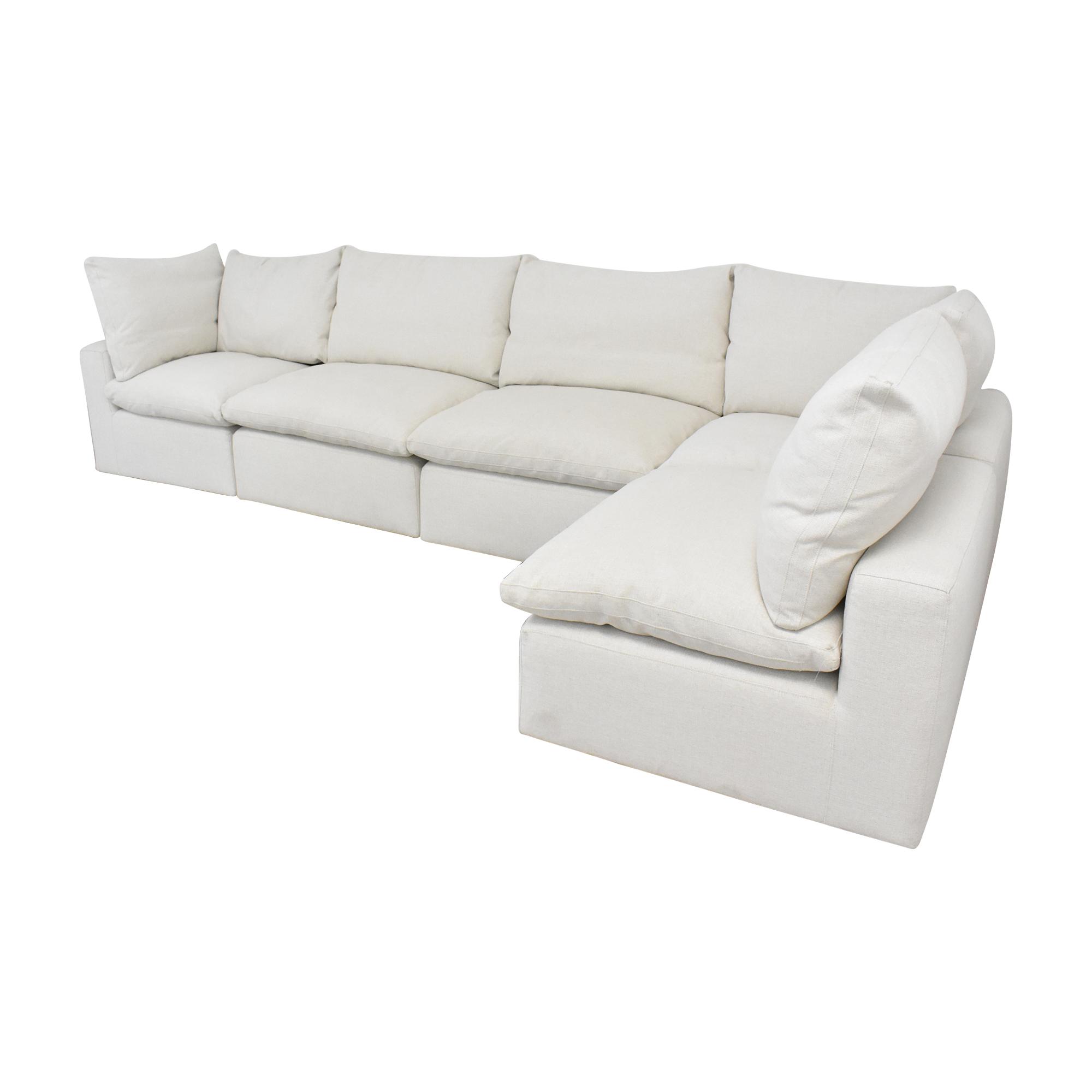 shop Bassett Furniture Bassett Furniture Corner Modular Sofa online
