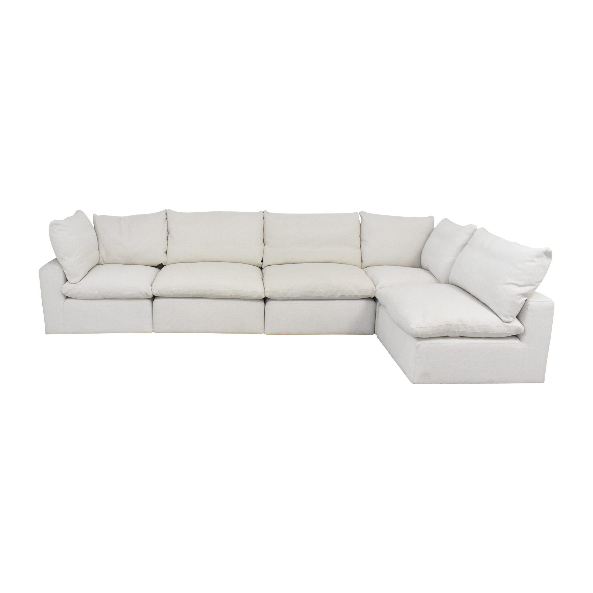 Bassett Furniture Bassett Furniture Corner Modular Sofa discount