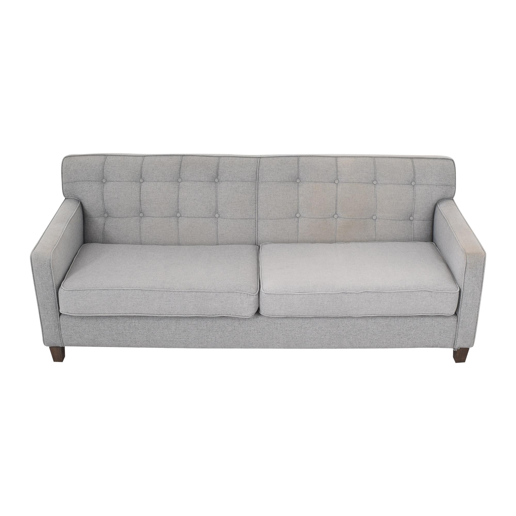 buy G. Romano Tufted Two Cushion Sofa G. Romano