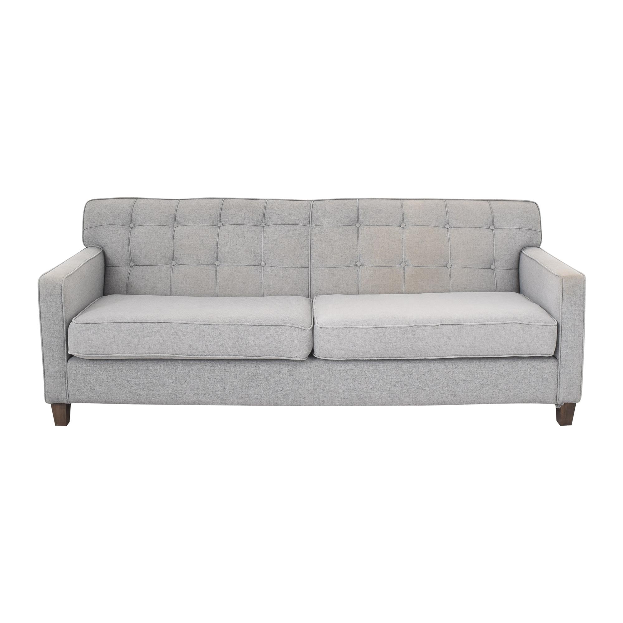 G. Romano G. Romano Tufted Two Cushion Sofa price