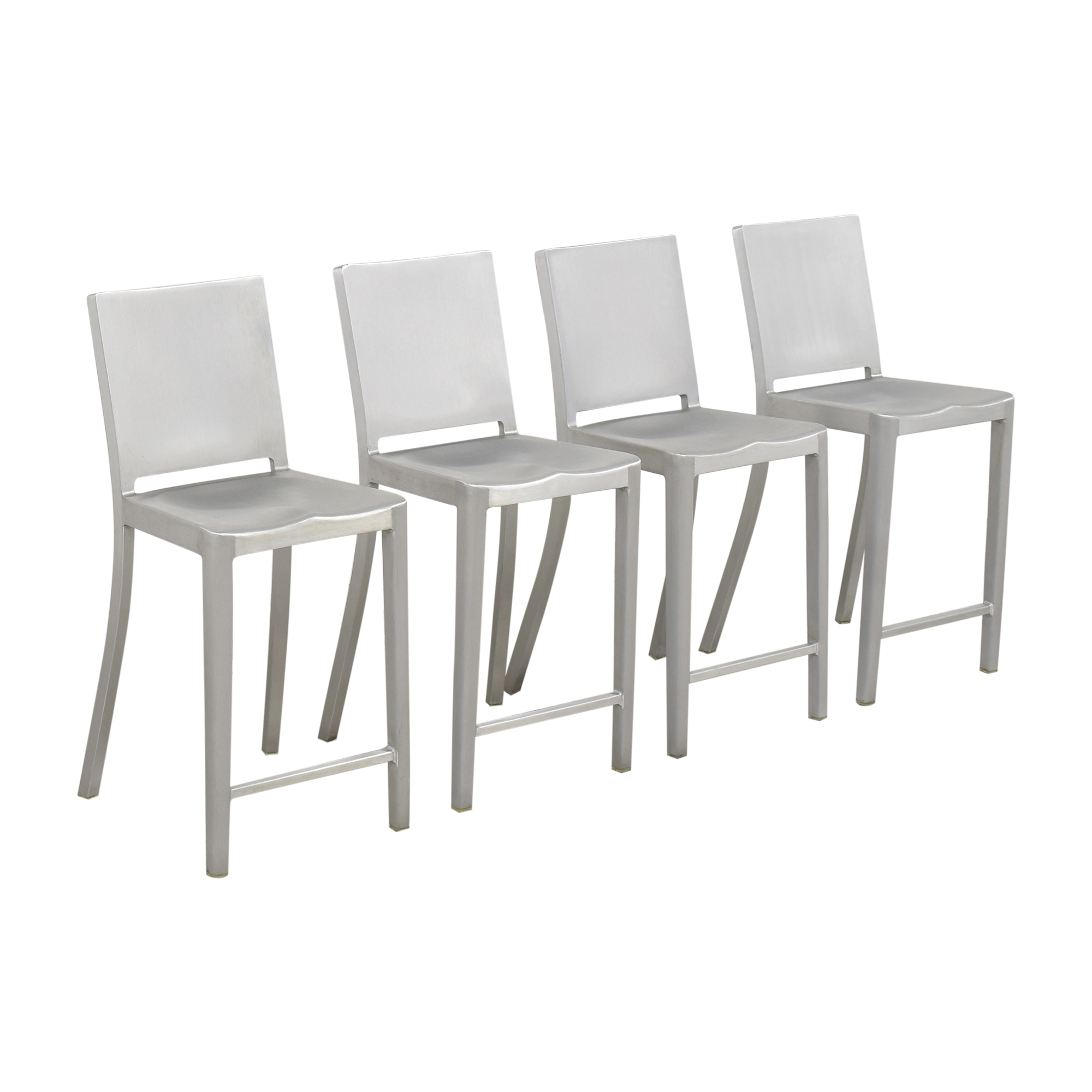 Design Within Reach Design Within Reach Emeco Hudson Counter Stools used