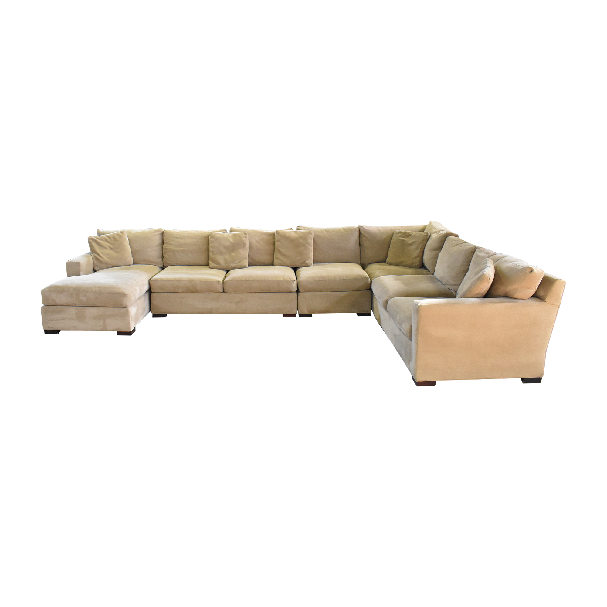 buy Crate & Barrel Crate & Barrel Axis Sectional Sofa with Chaise online