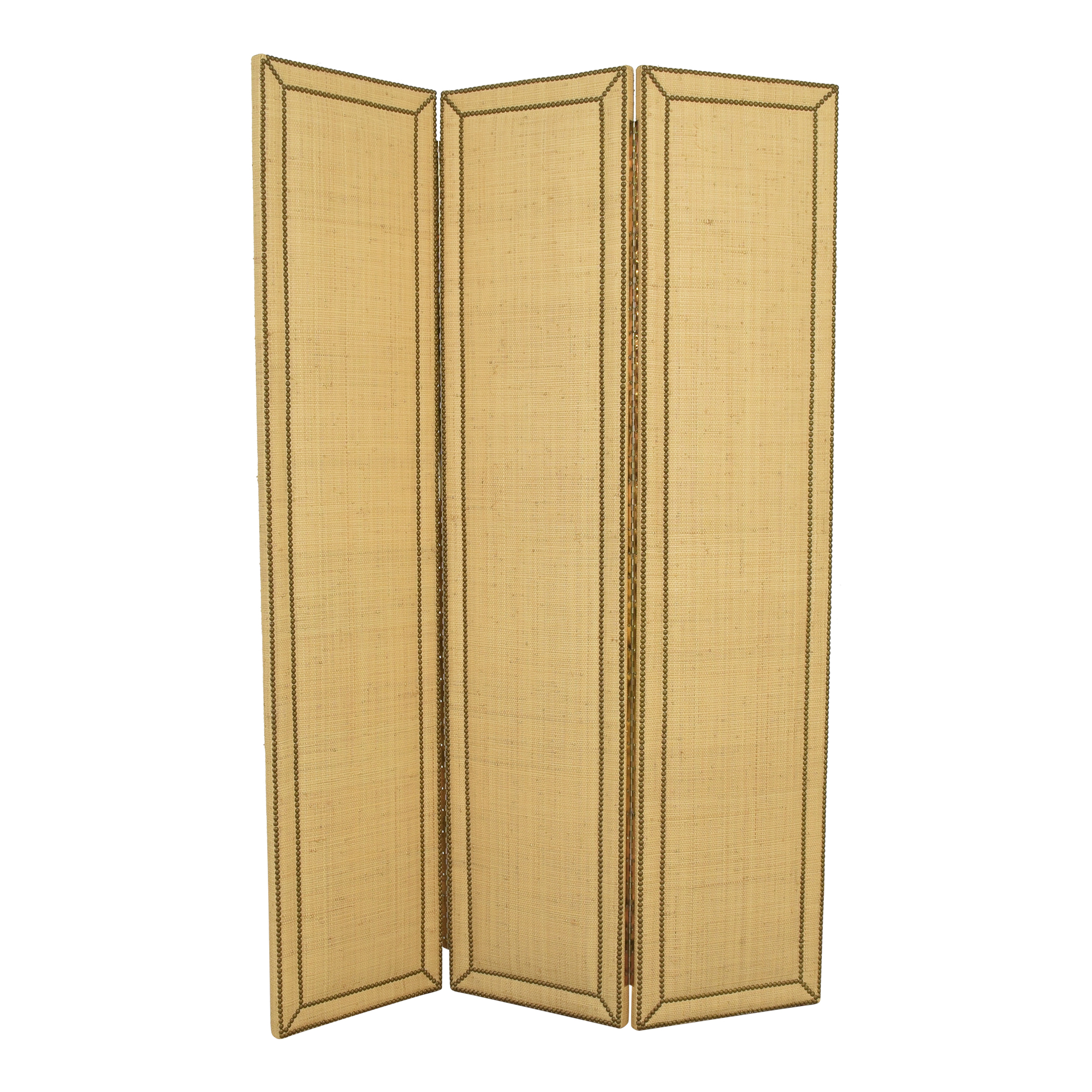 Custom Three Panel Room Divider ma