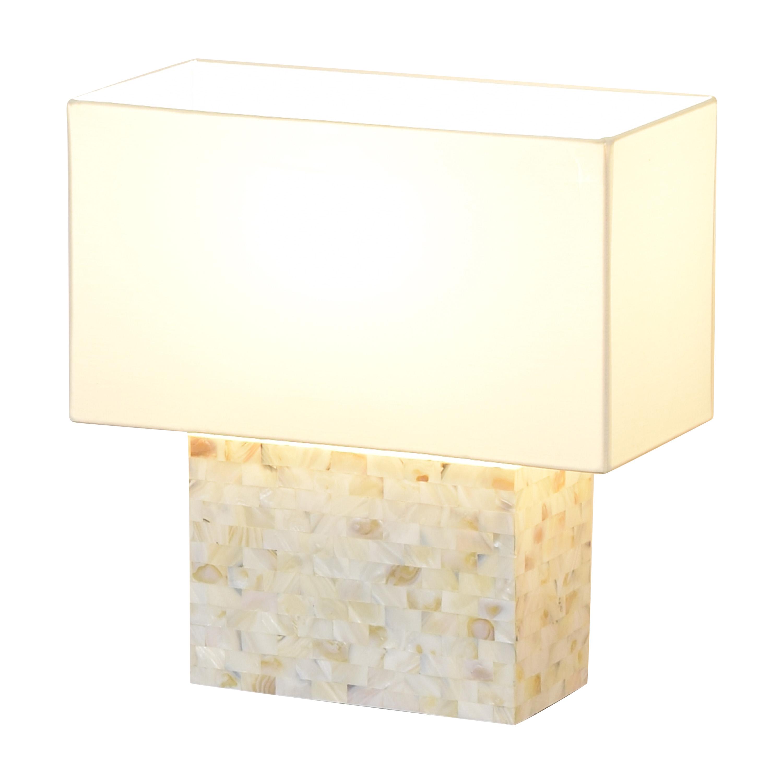 CB2 CB2 Shell Table Lamp ma