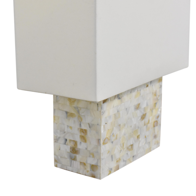 CB2 CB2 Shell Table Lamp Decor