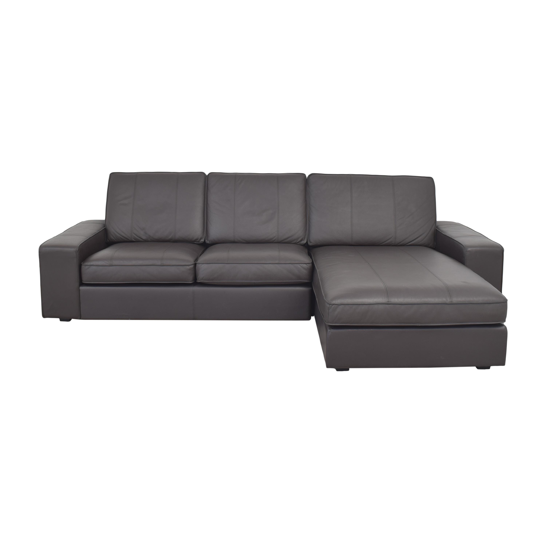 IKEA IKEA KIVIK Sectional Sofa with Chaise pa