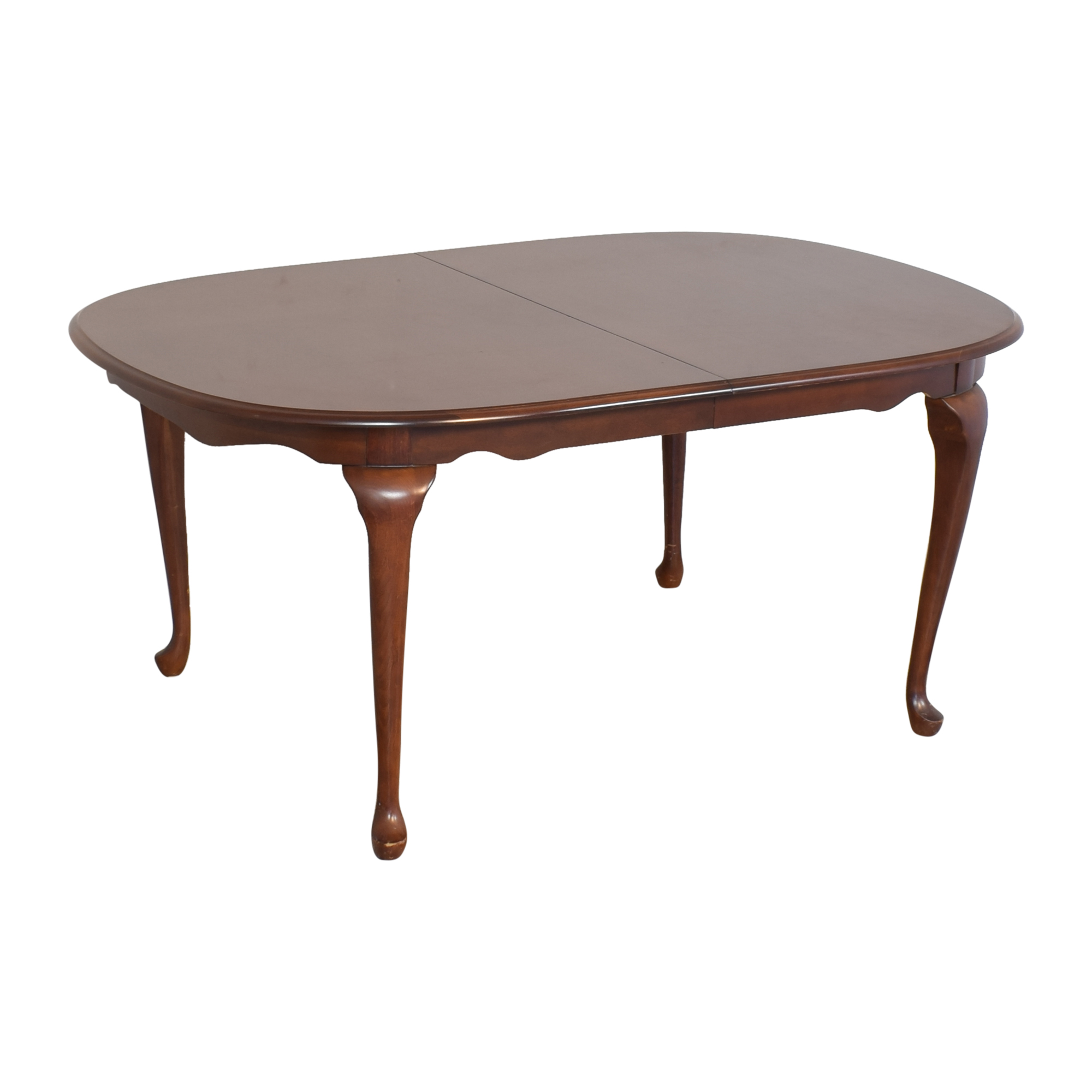 American Drew Extendable Oval Dining Table sale