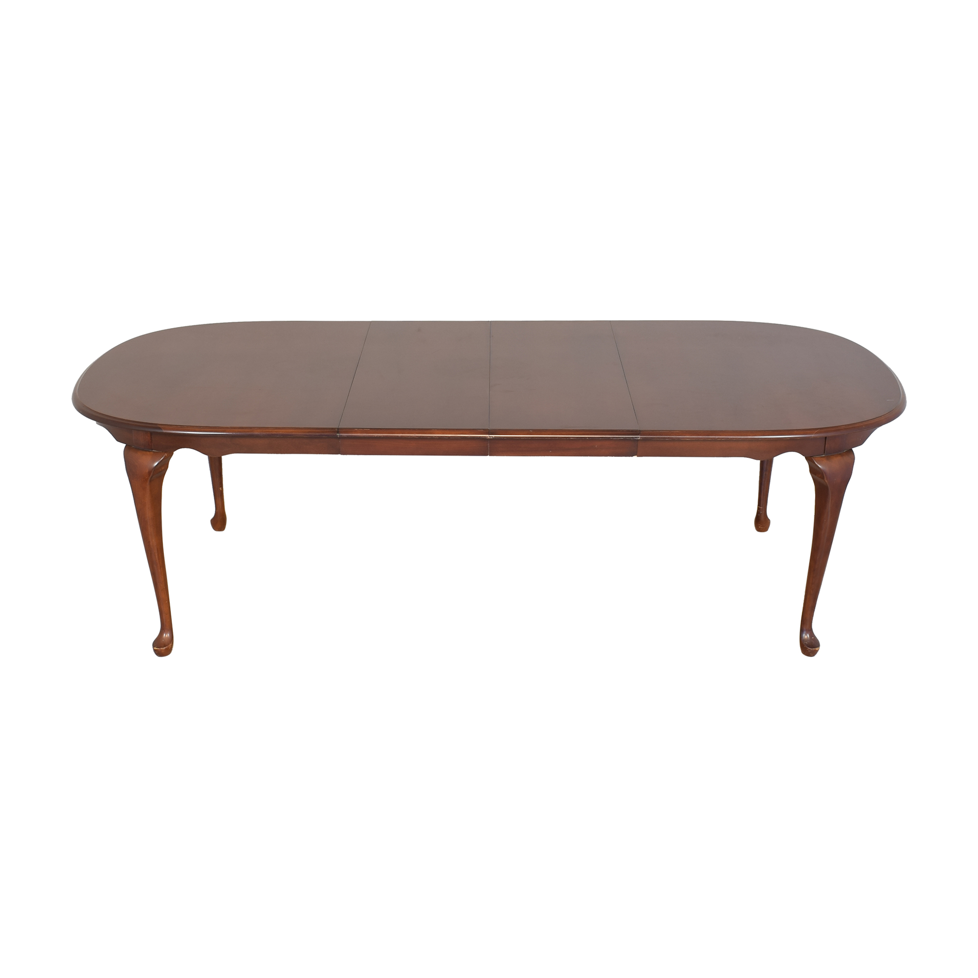 American Drew Extendable Oval Dining Table American Drew
