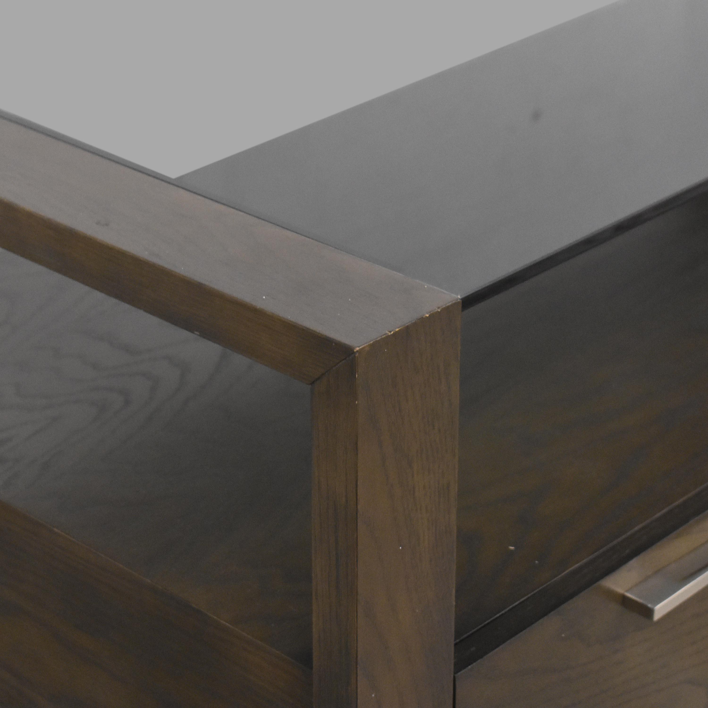 Macy's Macy's Modern Coffee Table with Drawers nyc