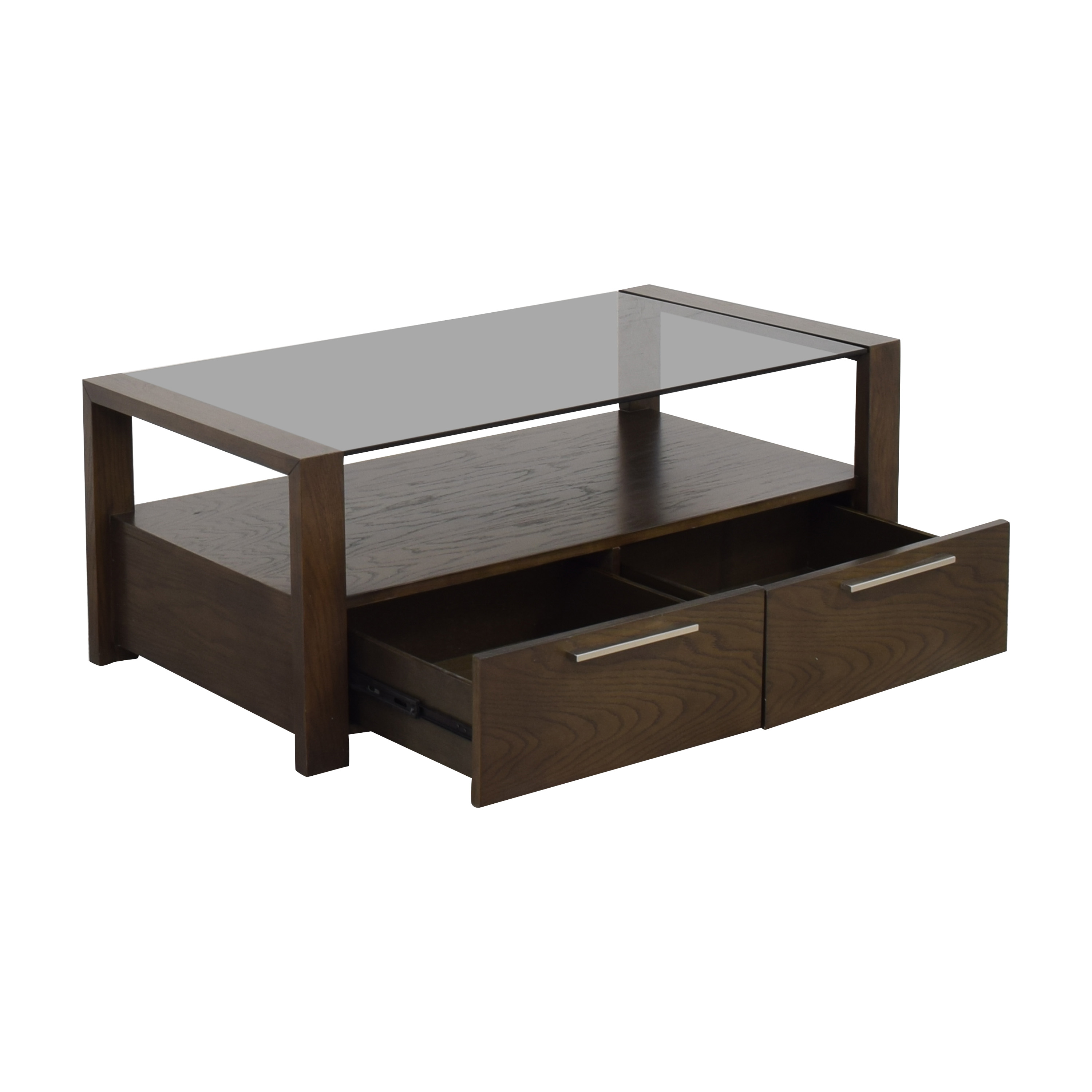 Macy's Macy's Modern Coffee Table with Drawers discount
