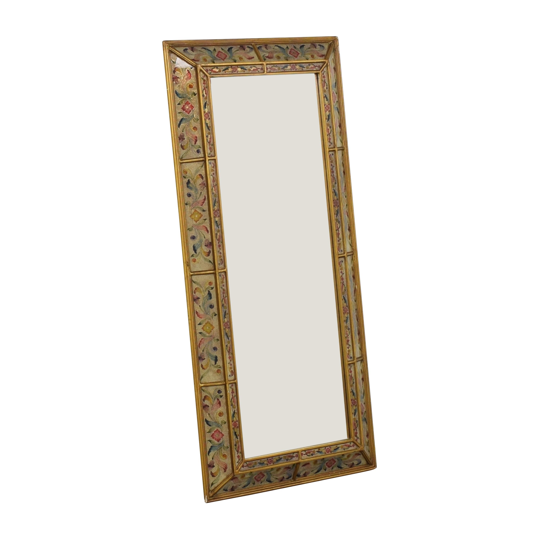 shop Robert M Weiss Peru Floor Mirror  Mirrors