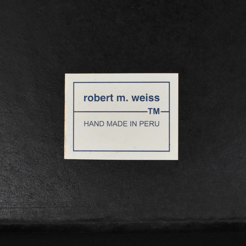 Robert M Weiss Peru Floor Mirror nj