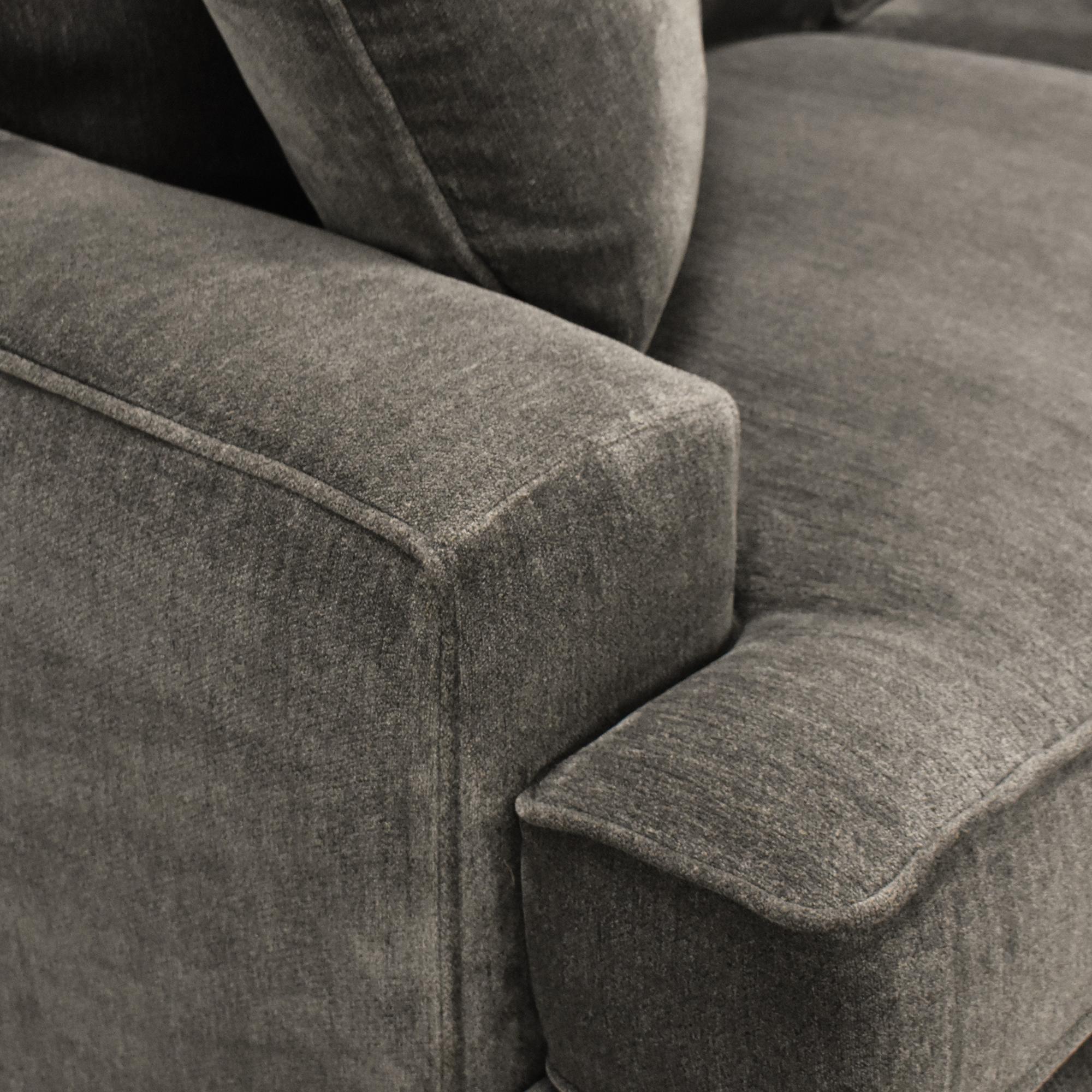 Macy's Macy's Corner Chaise Sectional Sofa nyc