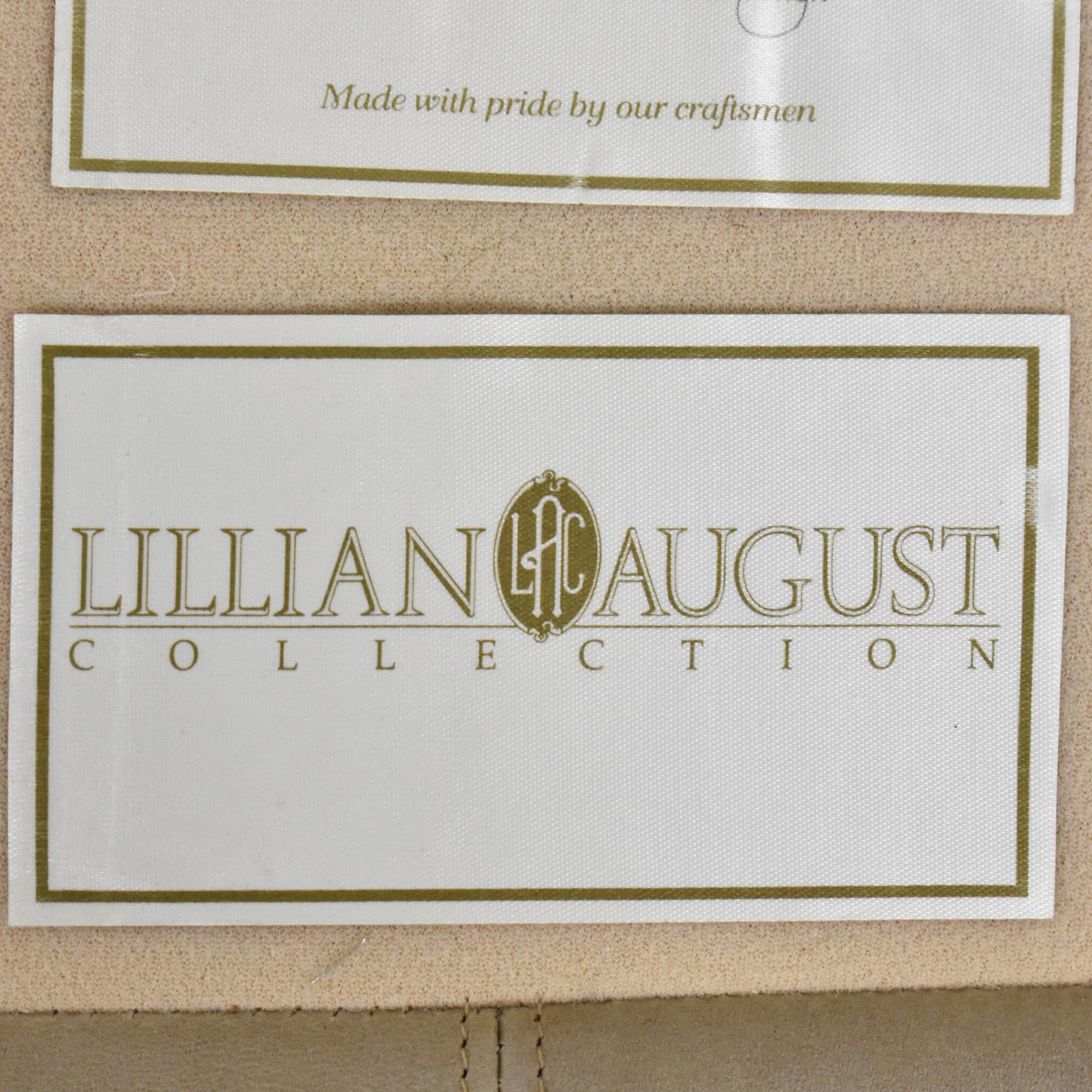 buy Lillian August Nailhead Camelback Sofa Lillian August