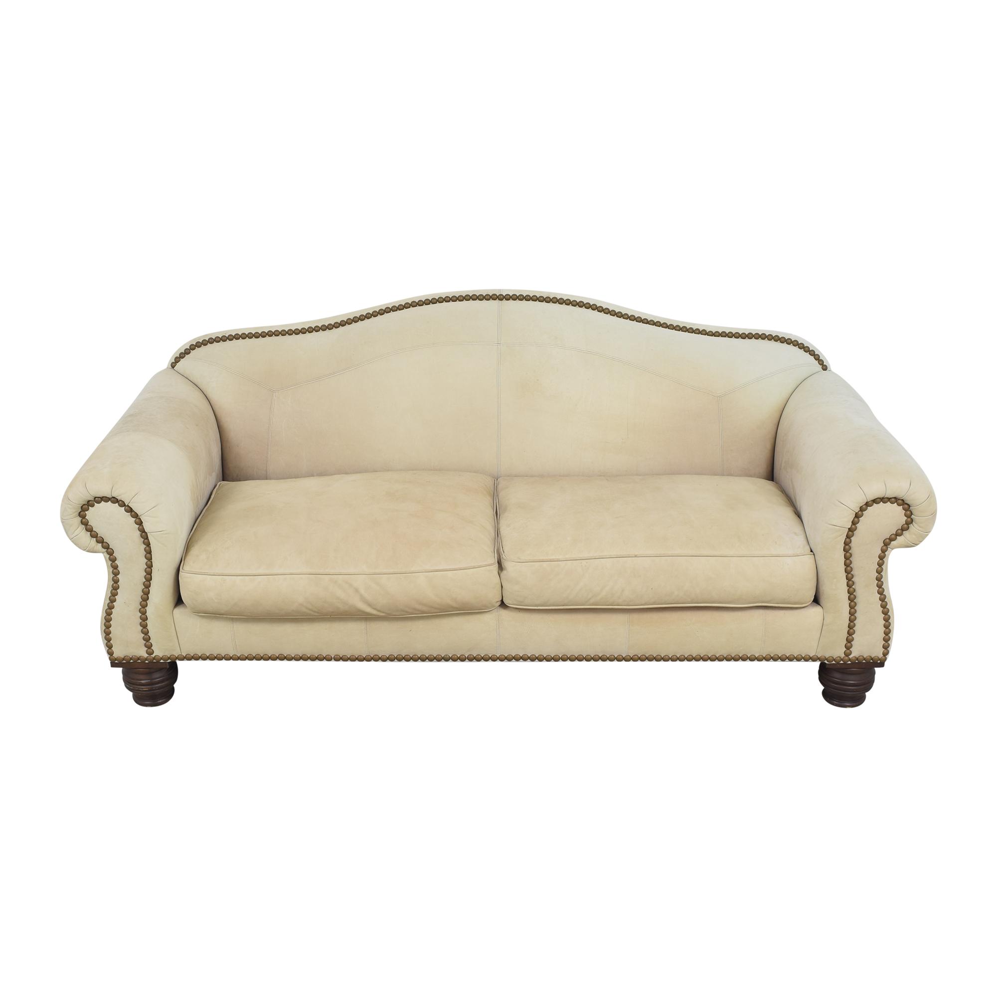 Lillian August Nailhead Camelback Sofa / Sofas