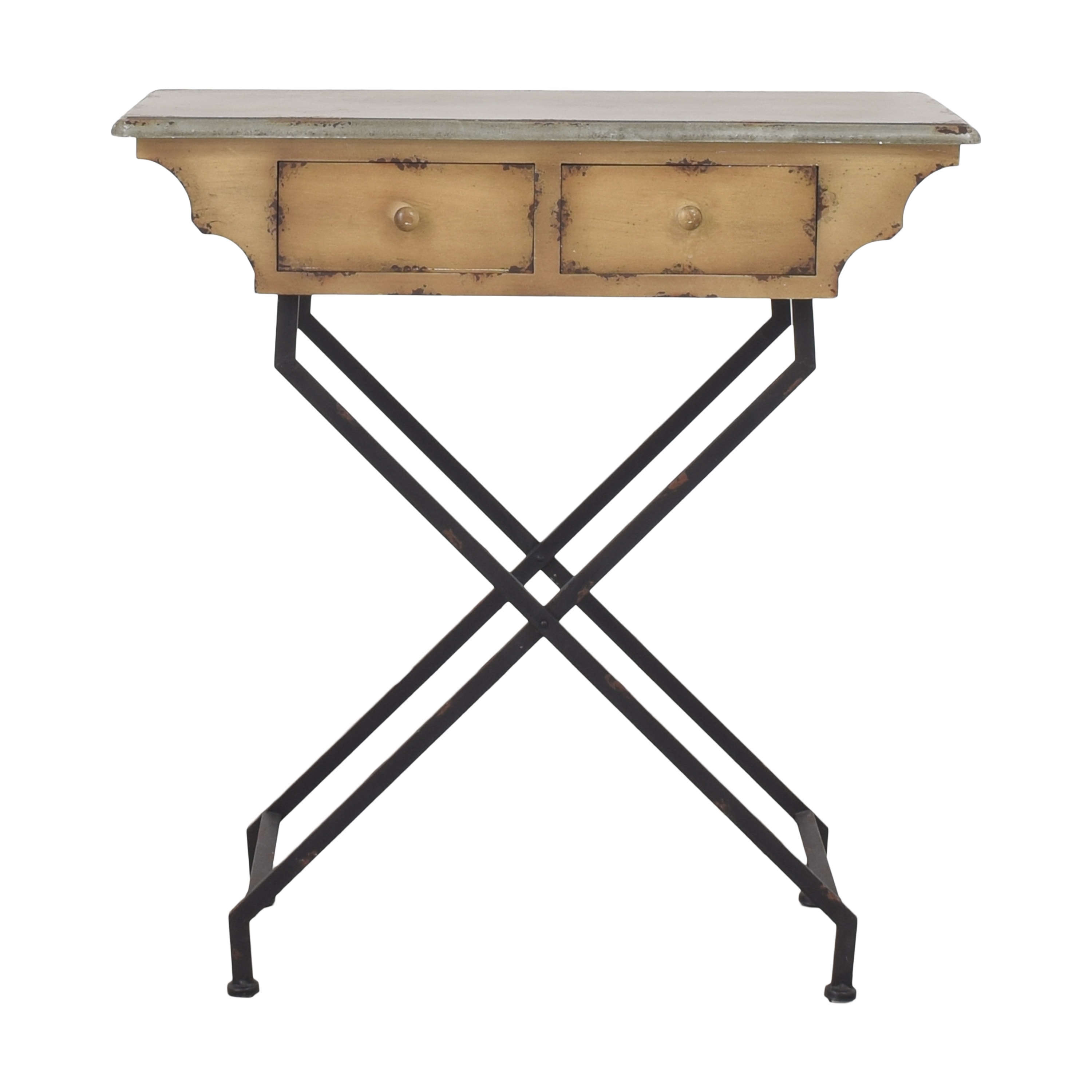 Peter Andrews Two Drawer Accent Table Peter Andrews