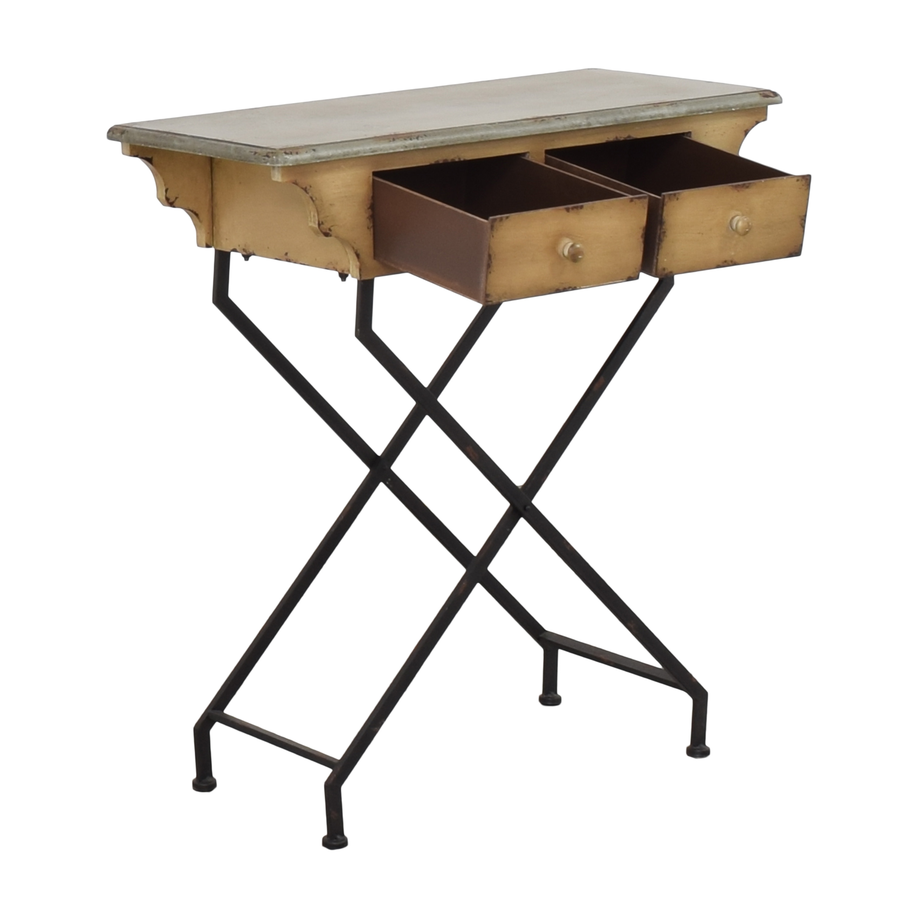 buy Peter Andrews Two Drawer Accent Table Peter Andrews Accent Tables