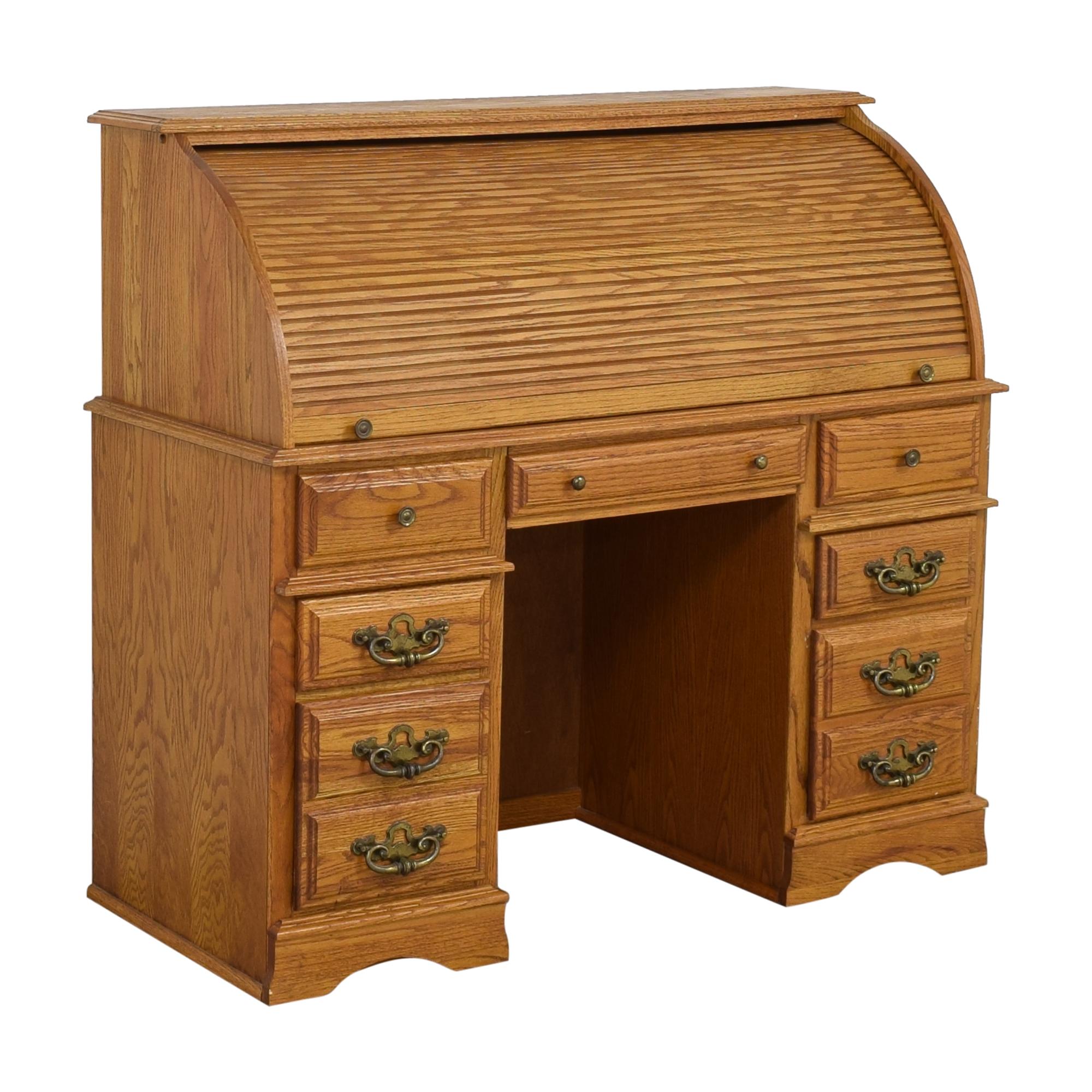 Roll Top Secretary Desk on sale
