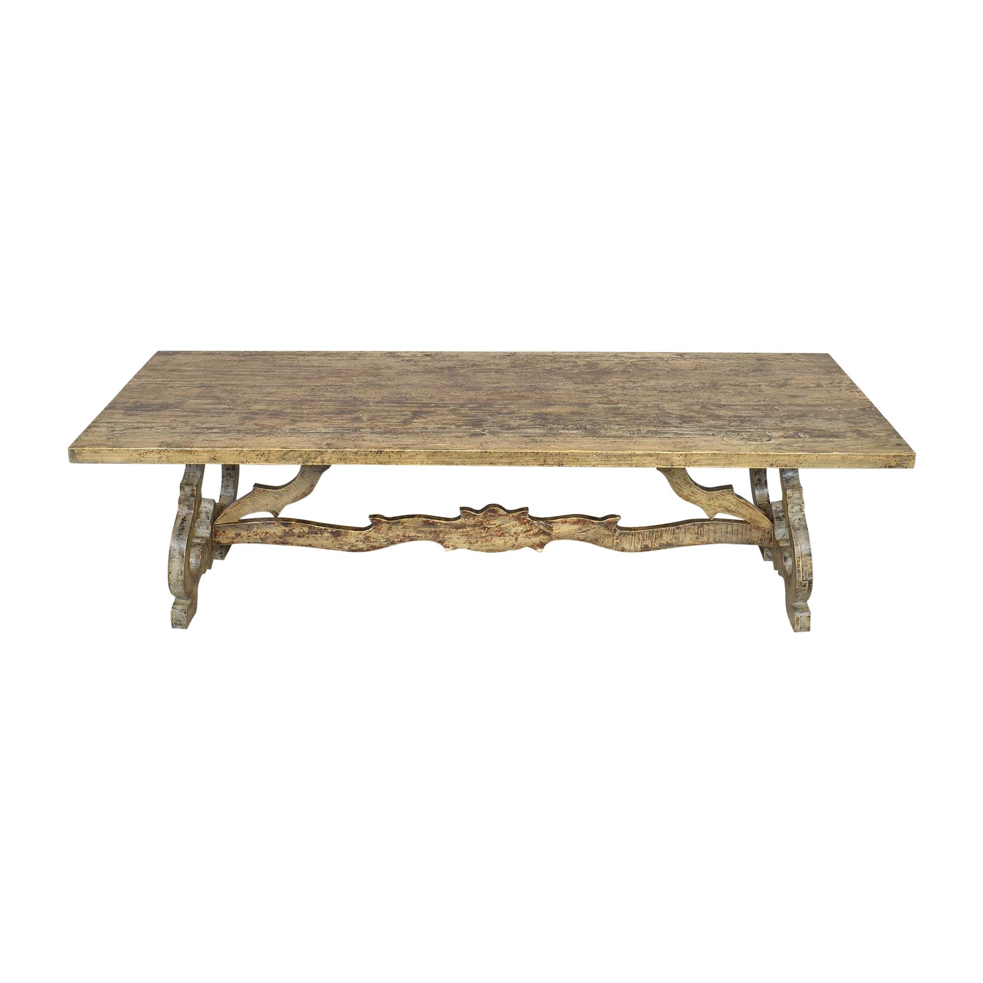 Rustic Rectangular Dining Table ma