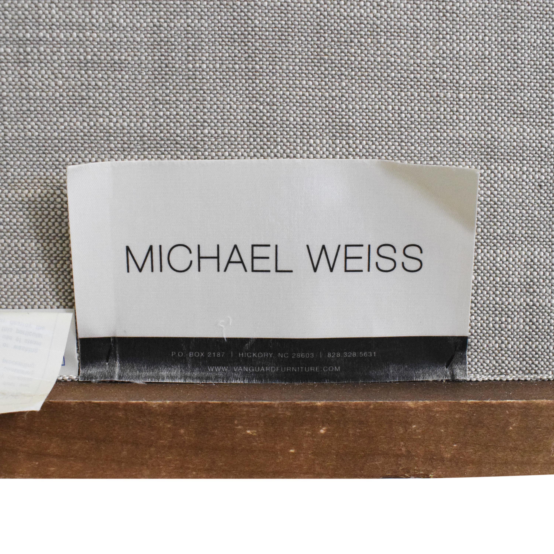 Vanguard Tufted Barrett King Bed by Michael Weiss Vanguard Furniture