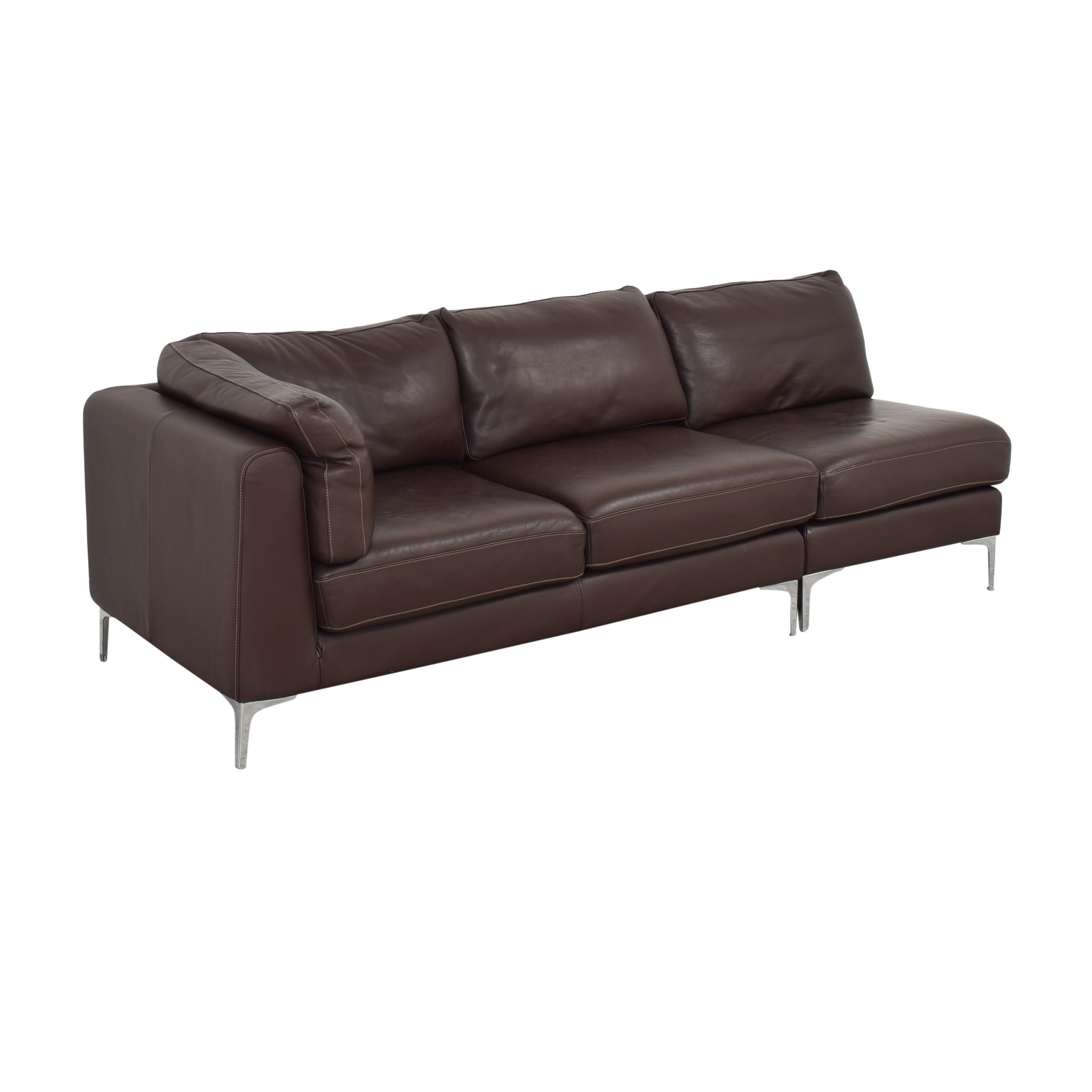 buy Design Within Reach Albert Sectional Sofa Design Within Reach