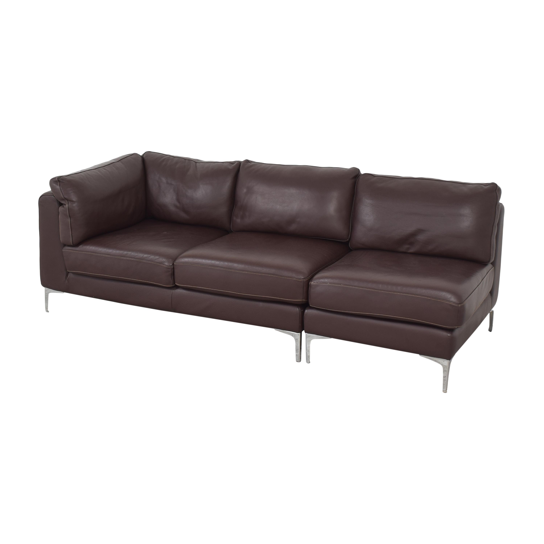 shop Design Within Reach Albert Sectional Sofa Design Within Reach Sofas
