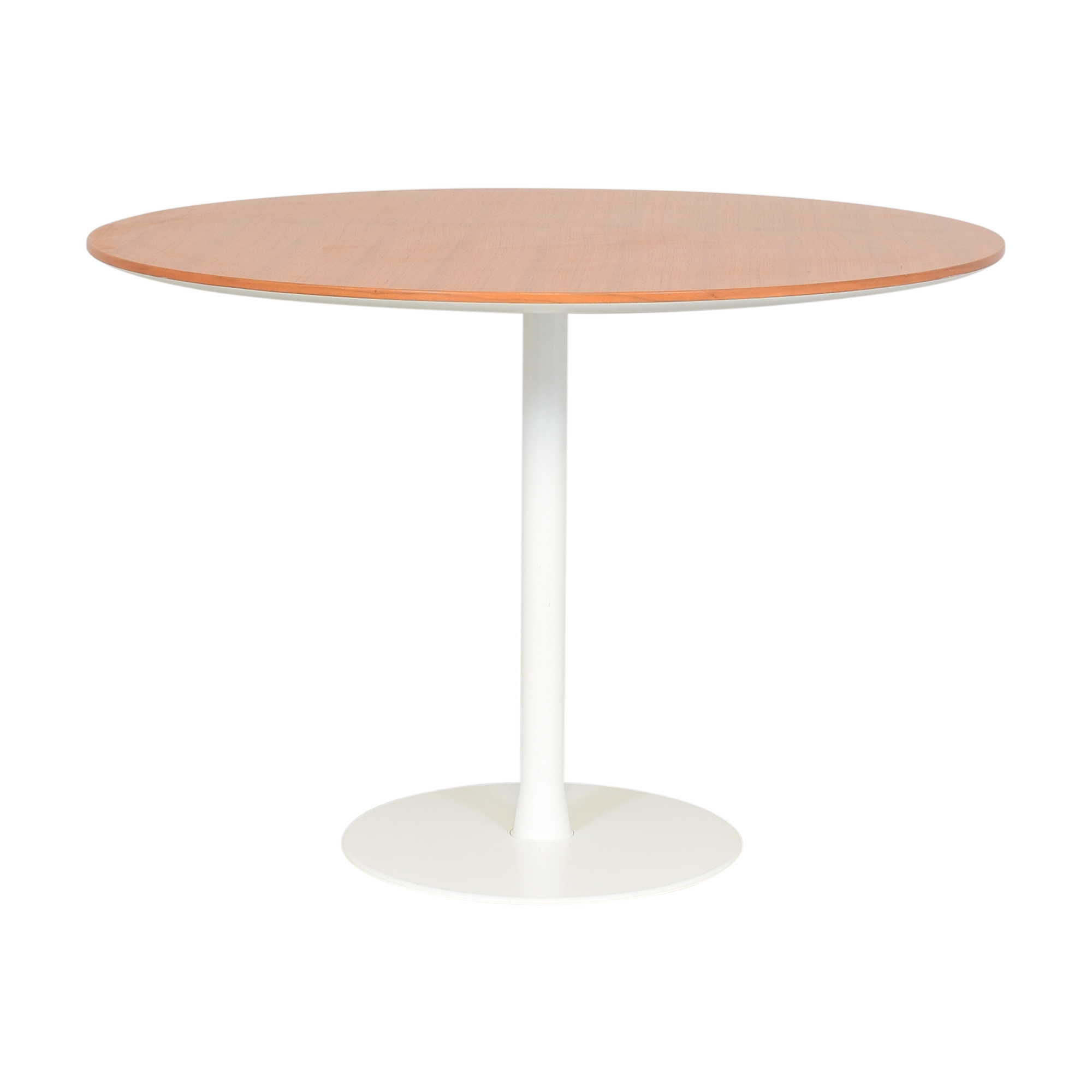 Round Top Pedestal Dining Table ct