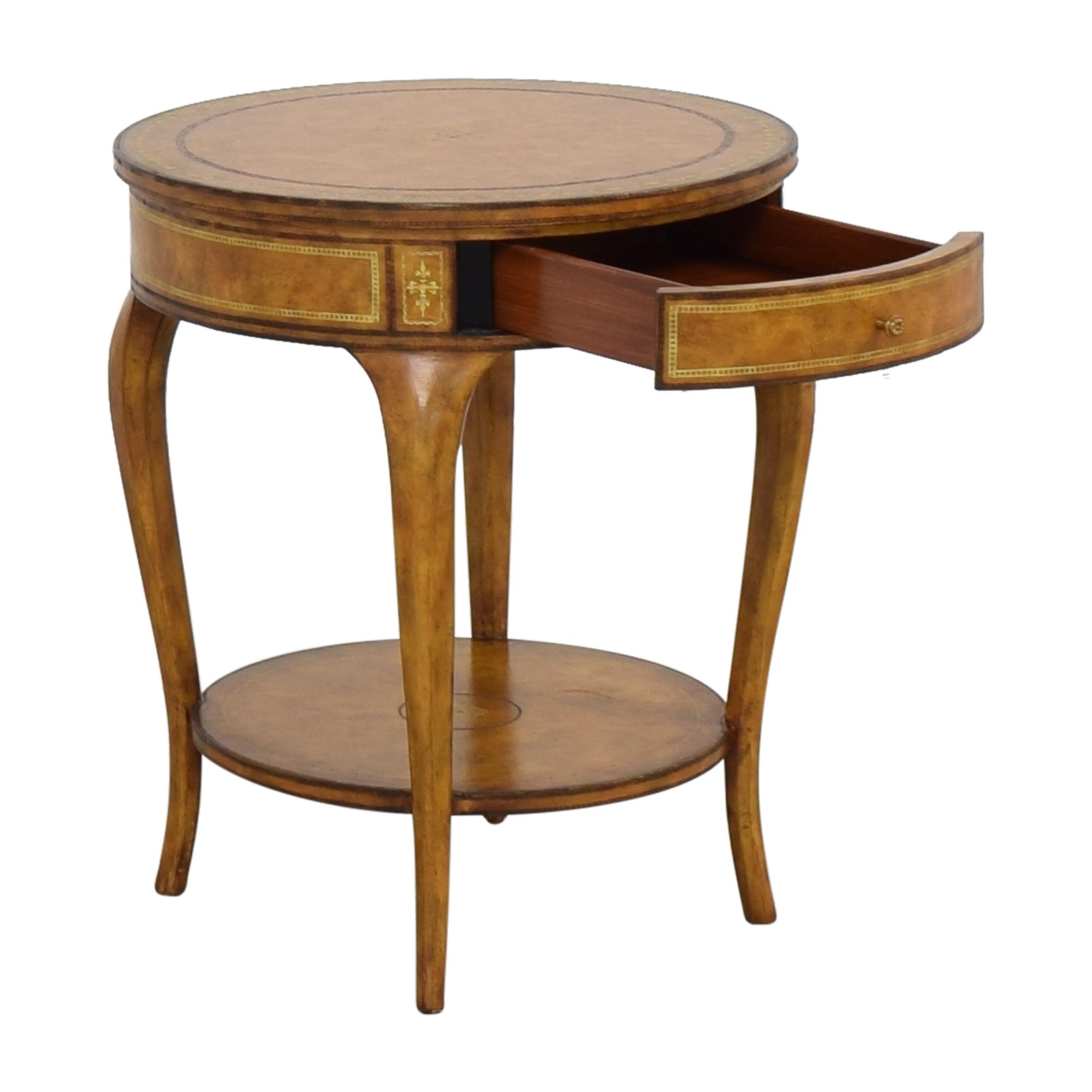 Maitland-Smith Maitland-Smith Round Accent Table on sale