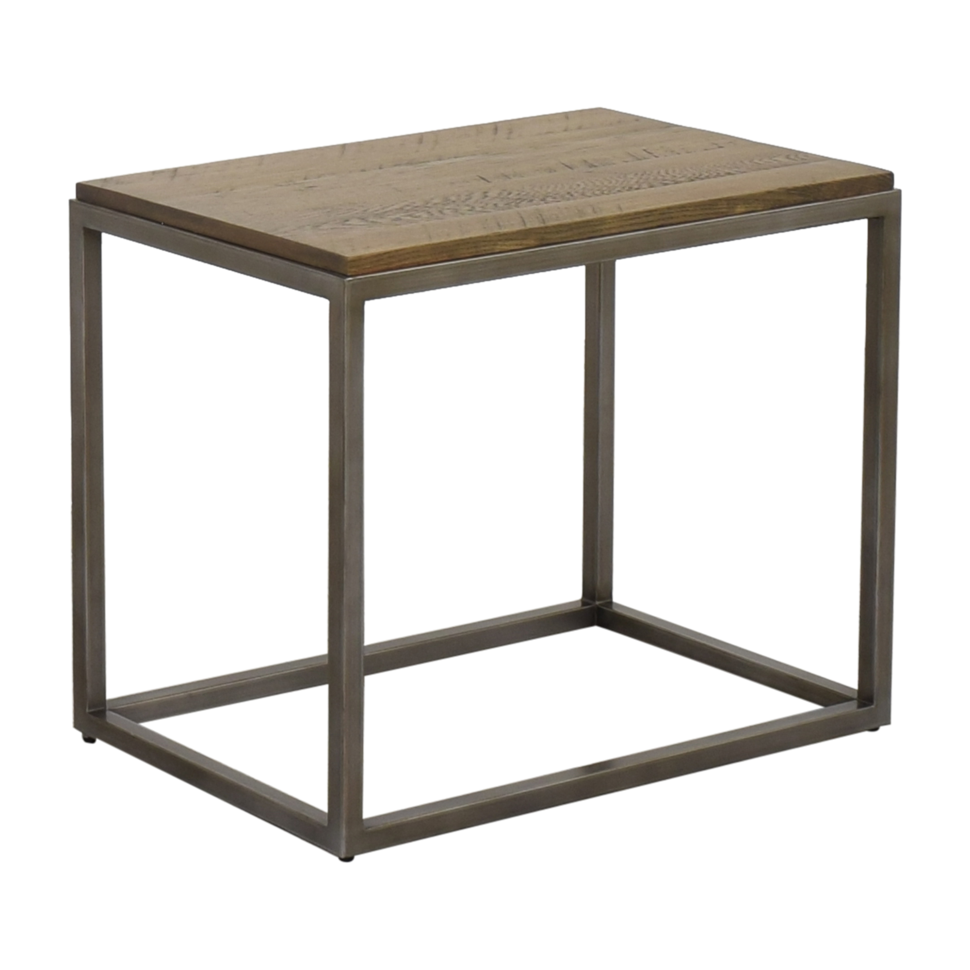 Ethan Allen Ethan Allen Borough End Table brown & grey