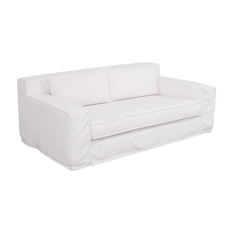 Restoration Hardware Restoration Hardware Capri Slipcovered Sofa price