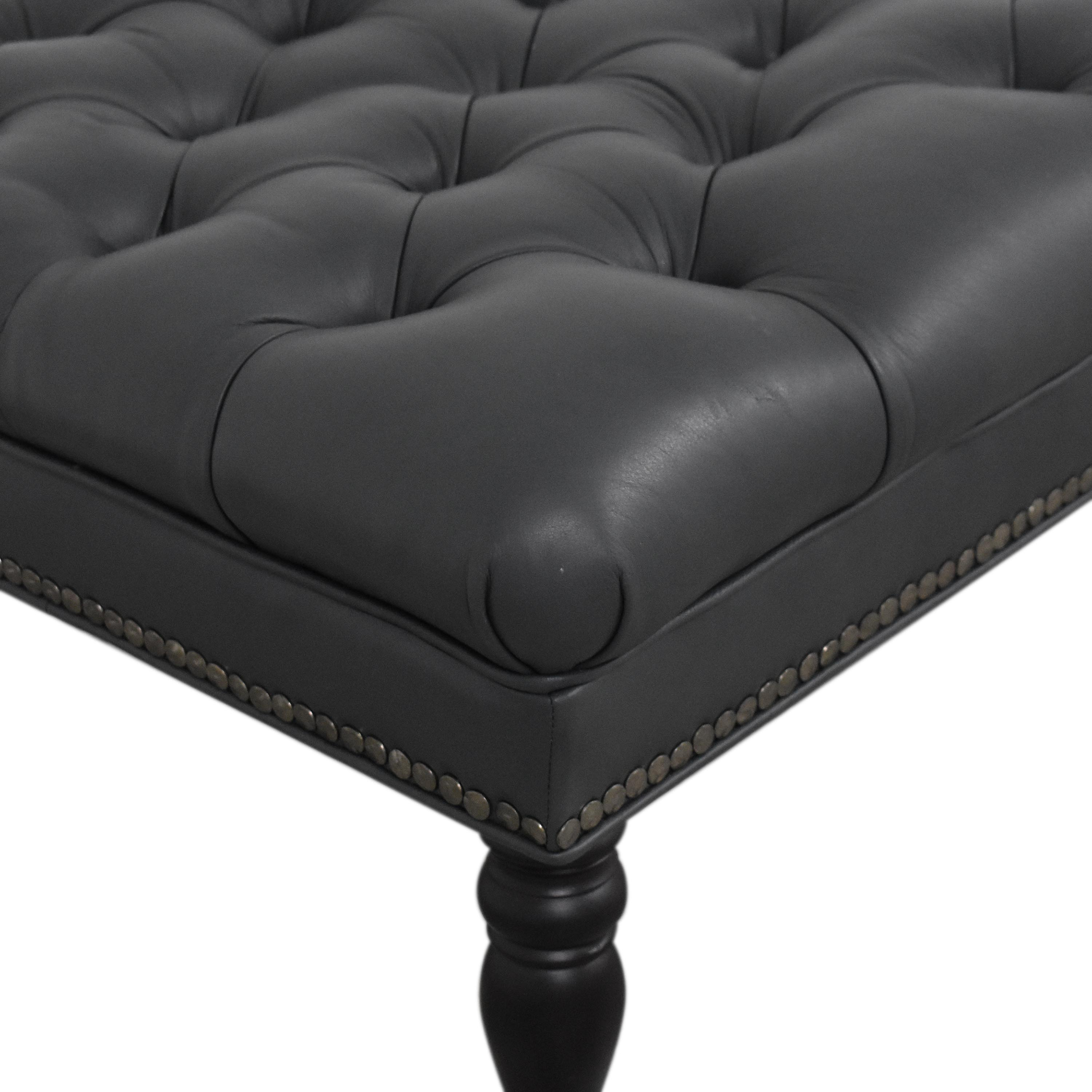 Tufted Bench Ottoman on sale