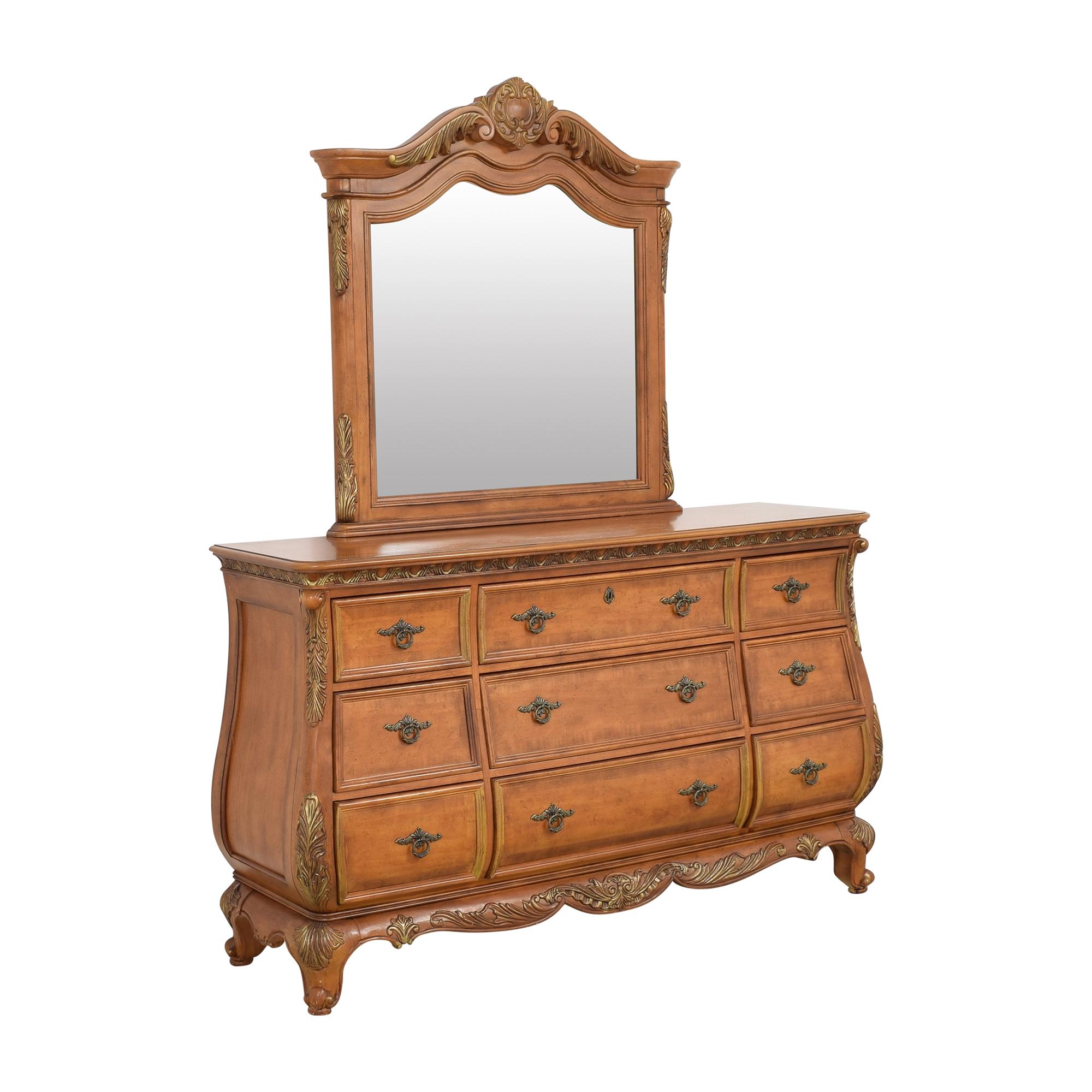 shop  Triple Bombe Dresser with Mirror online